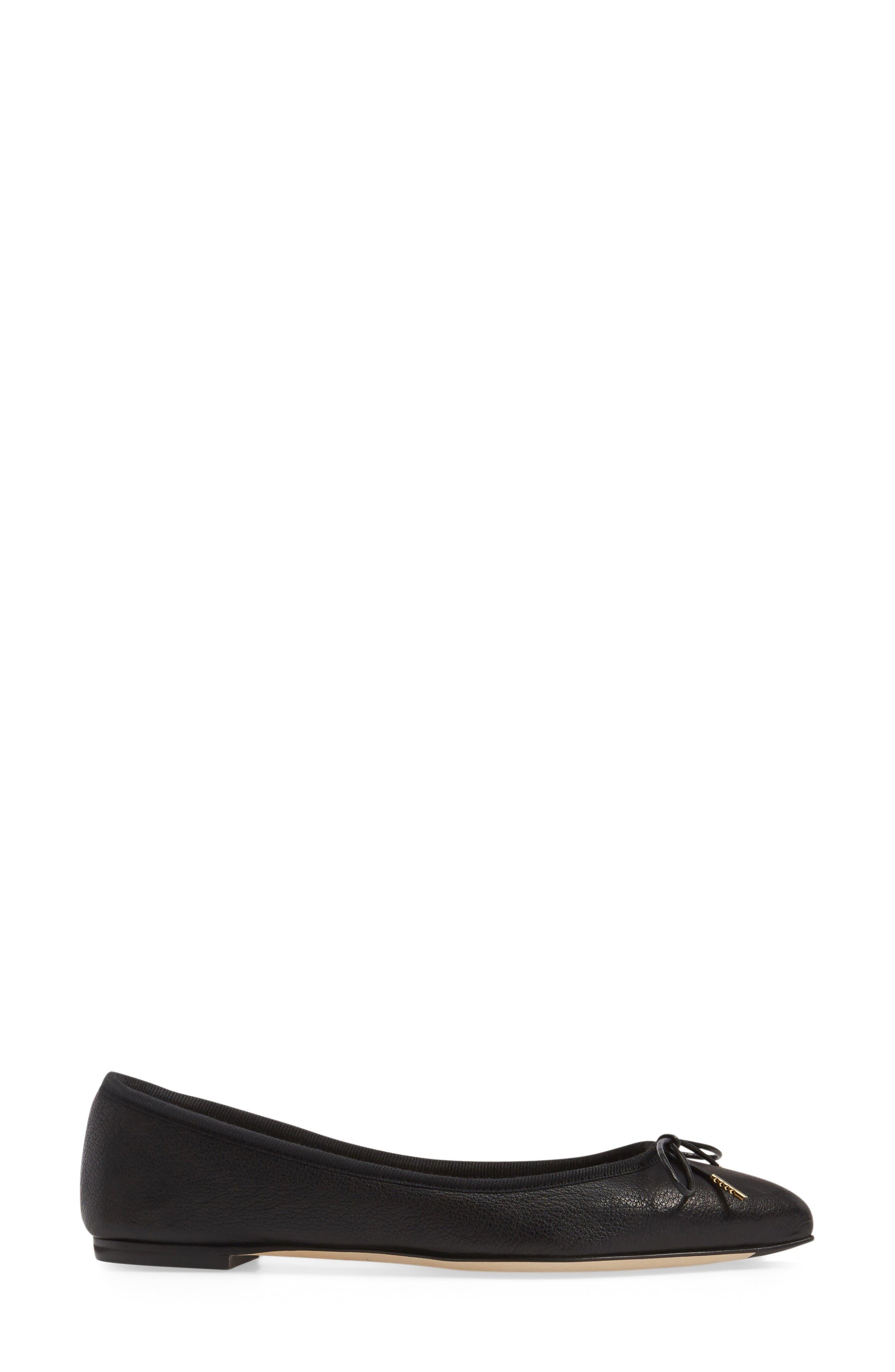 Alternate Image 3  - AGL Sacchetto Pointy Toe Flat (Women)
