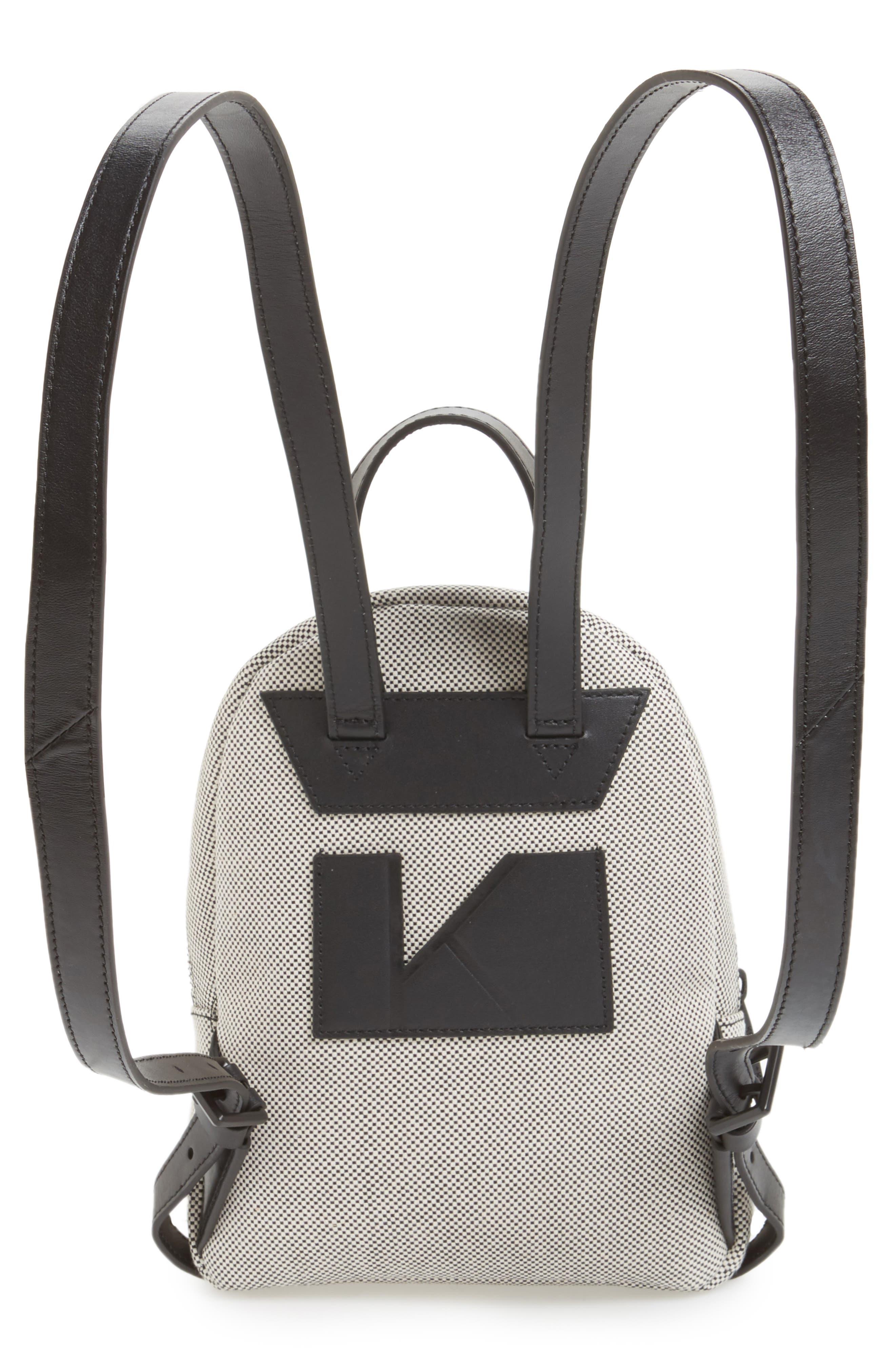 Alternate Image 3  - KENDALL + KYLIE Mini Sloane Canvas Backpack