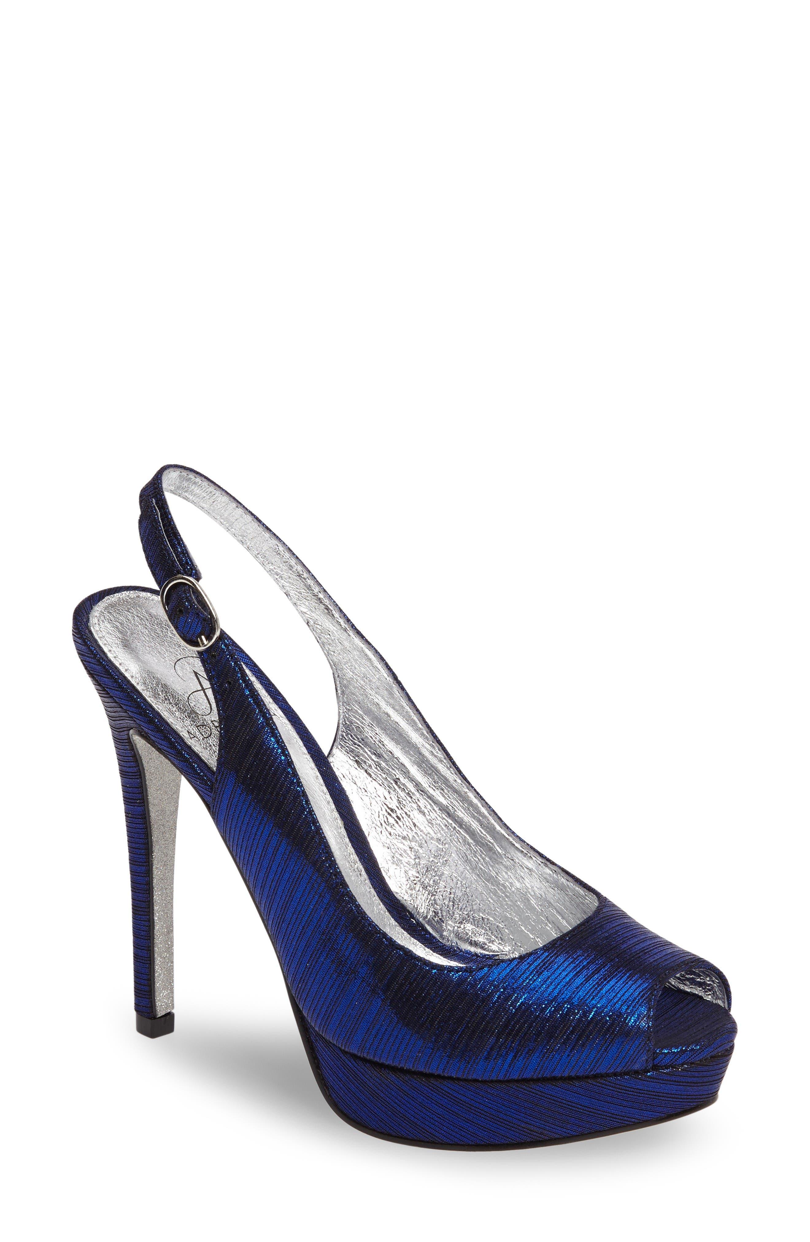 Adrianna Papell Rita Platform Slingback Sandal (Women)