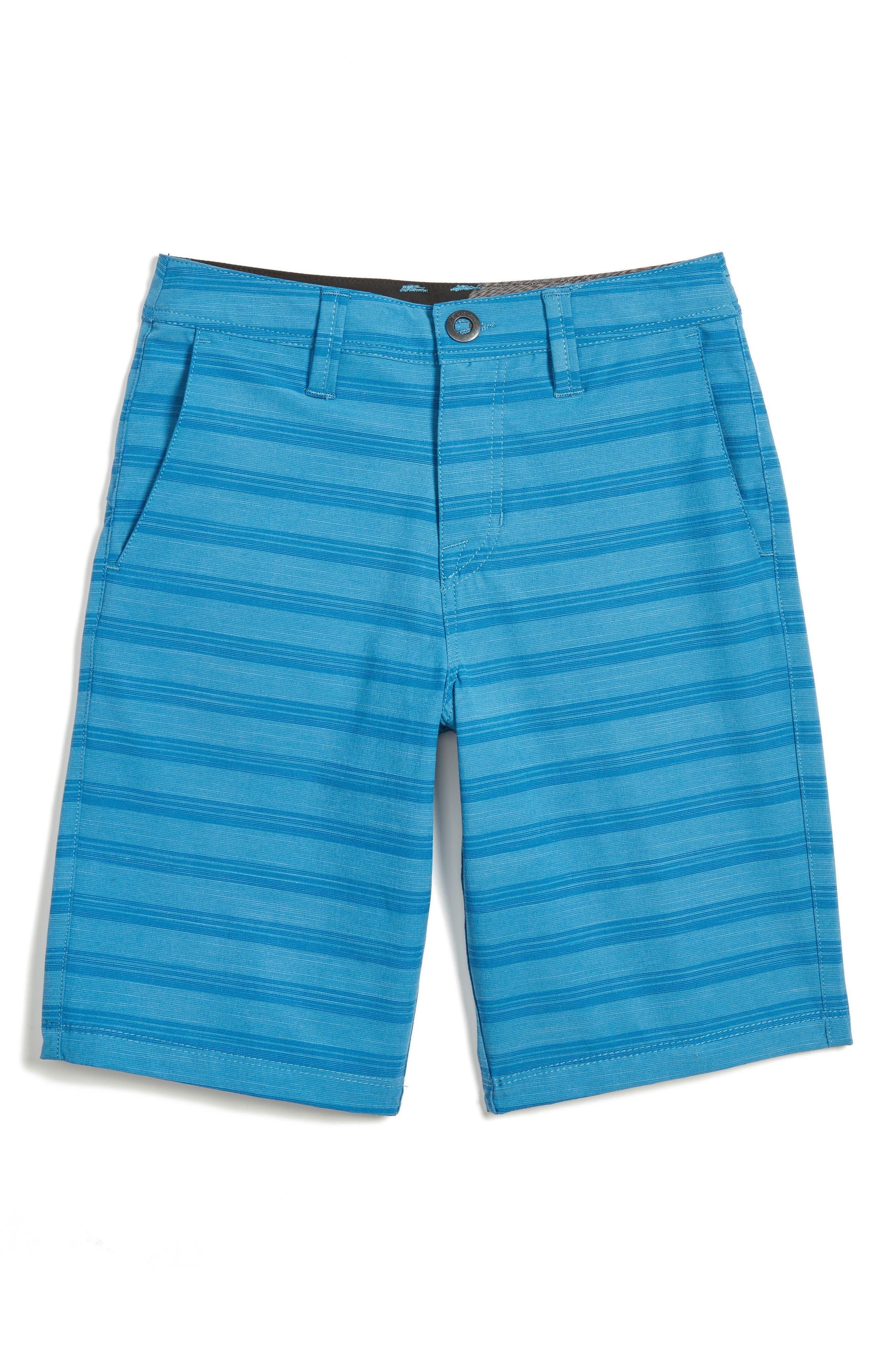 Surf N' Turf Hybrid Shorts,                         Main,                         color, Mayan Blue