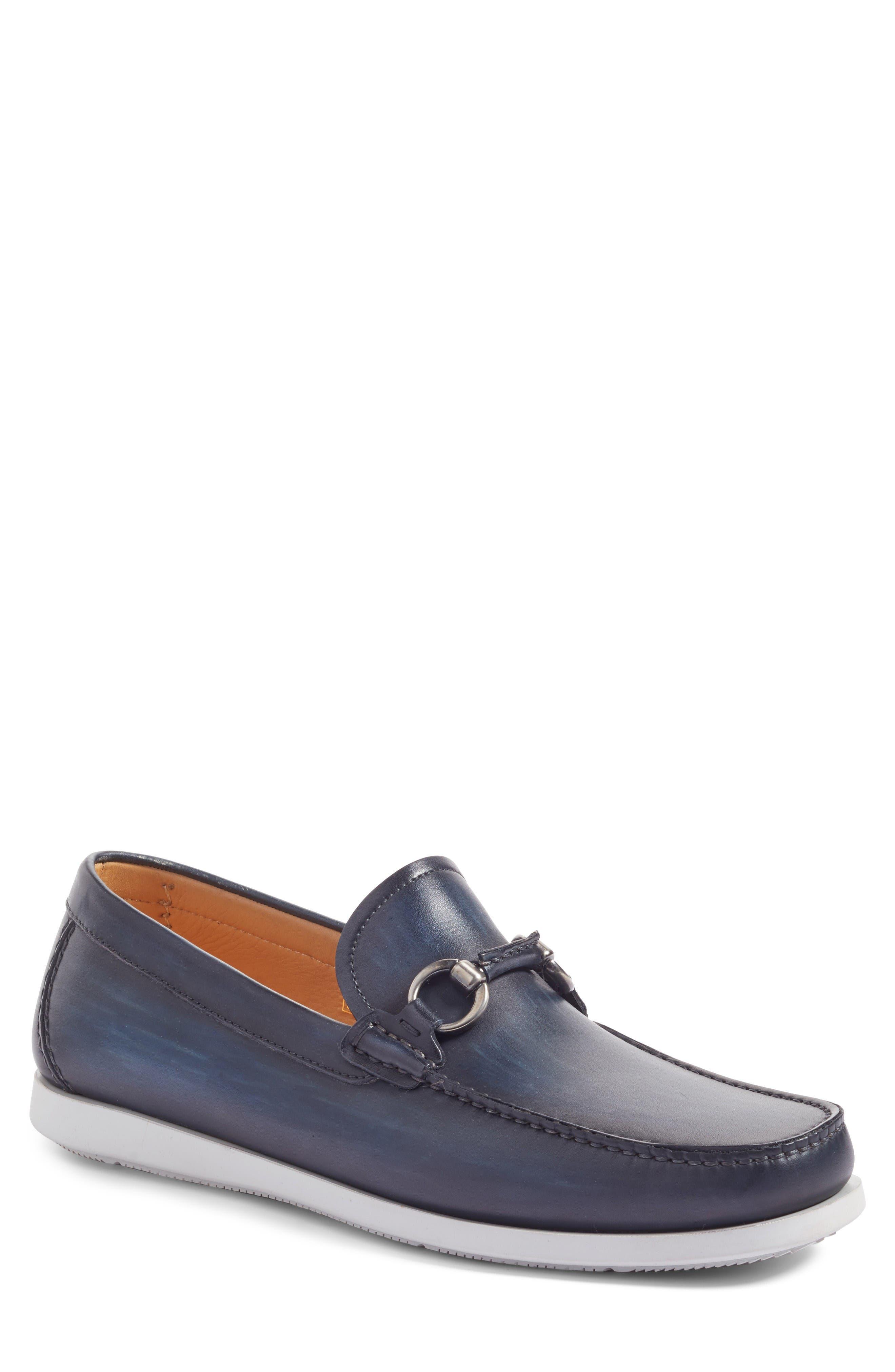Marbella Bit Loafer,                         Main,                         color, Navy