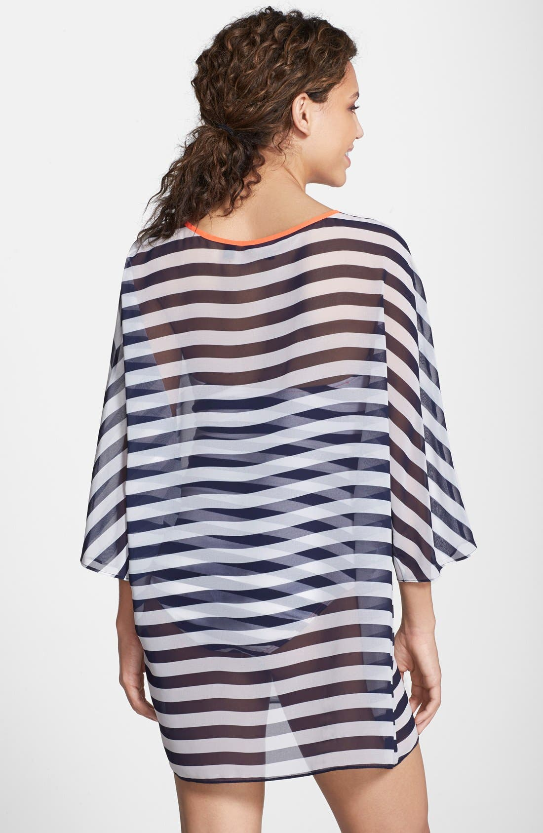 Alternate Image 2  - Ted Baker London Stripe Cover-Up Tunic