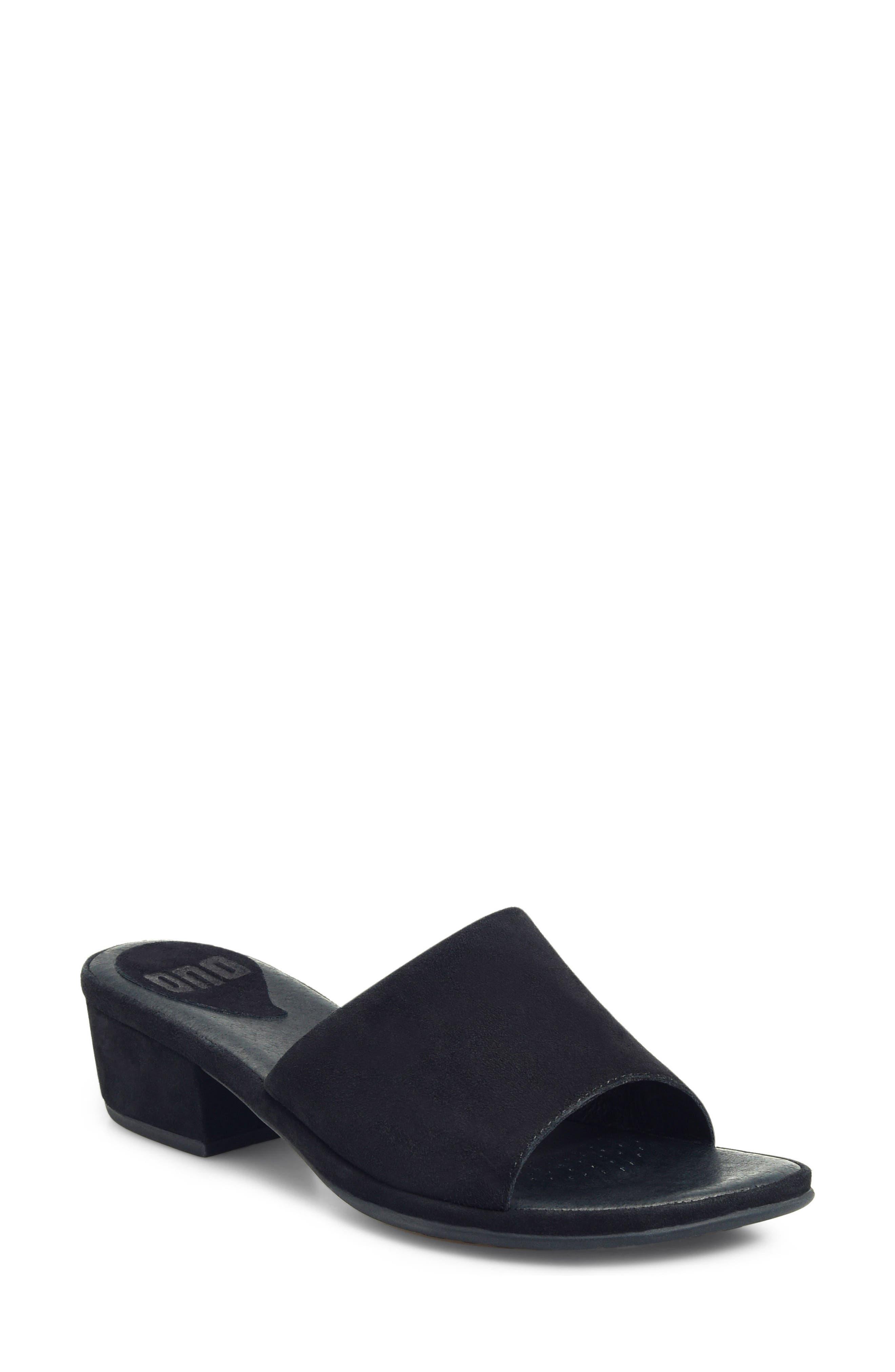 ONO Bo Block Heel Slide Sandal