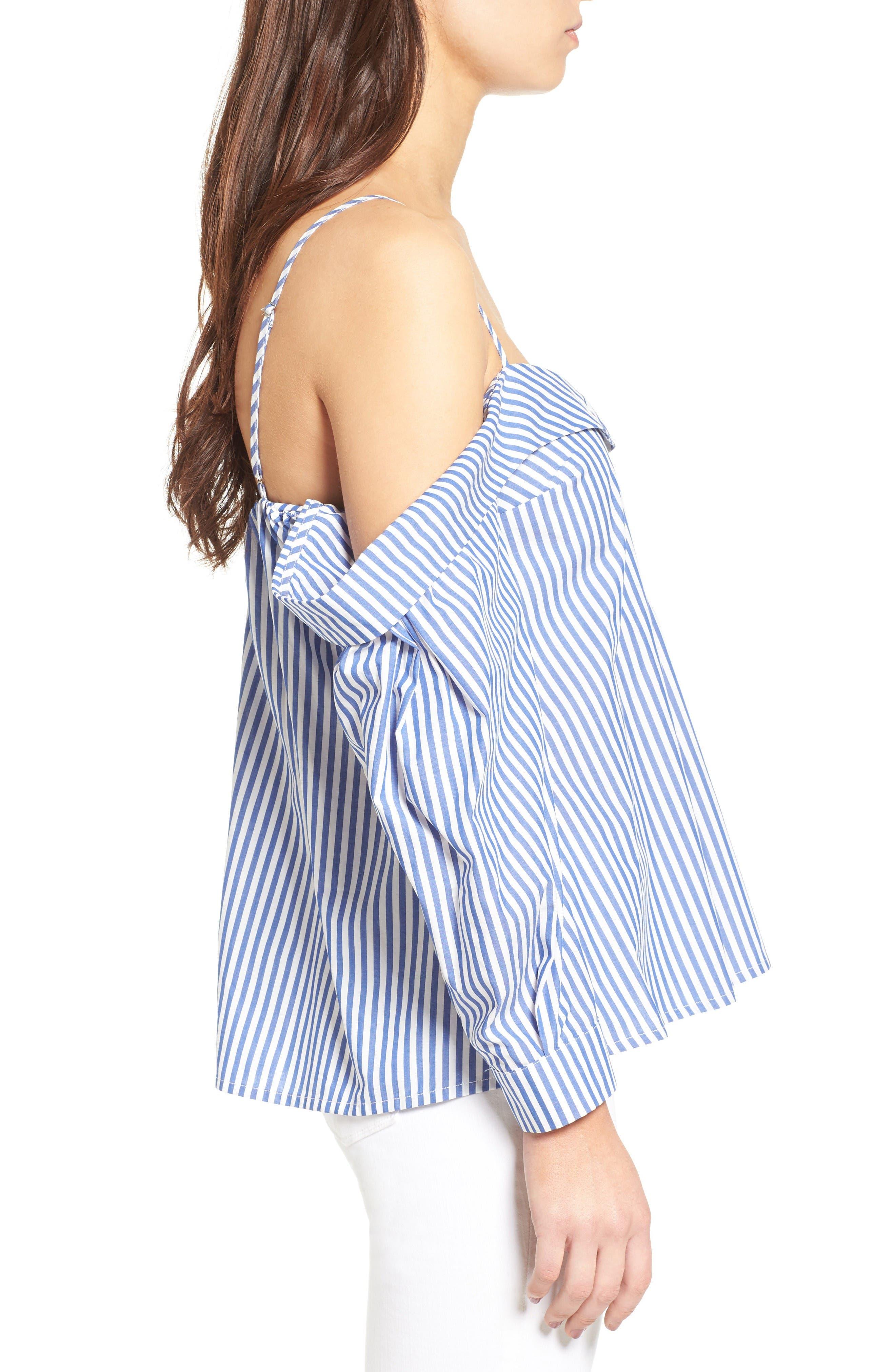 Alternate Image 3  - Bardot Paloma Cotton Off the Shoulder Top