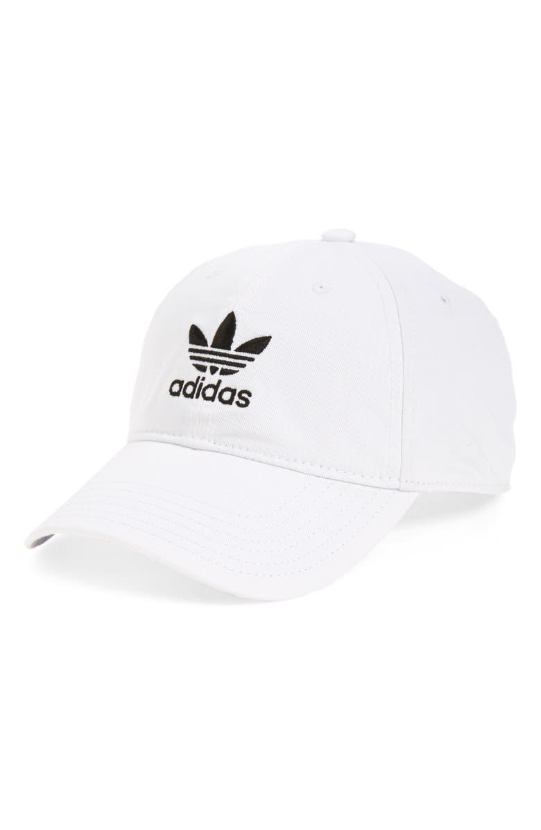 Adidas Originals Originals Precurved Washed Strapback Hat c73099a537e