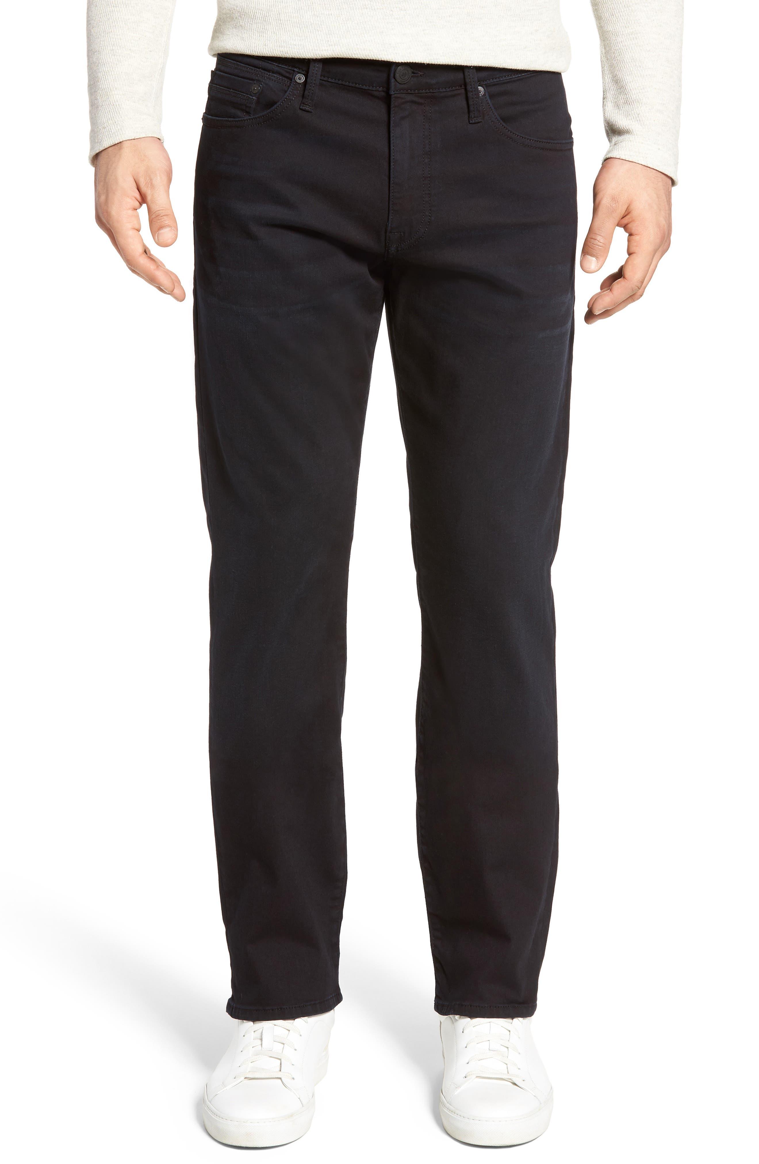 Matt Relaxed Fit Jeans,                         Main,                         color, Blue Black