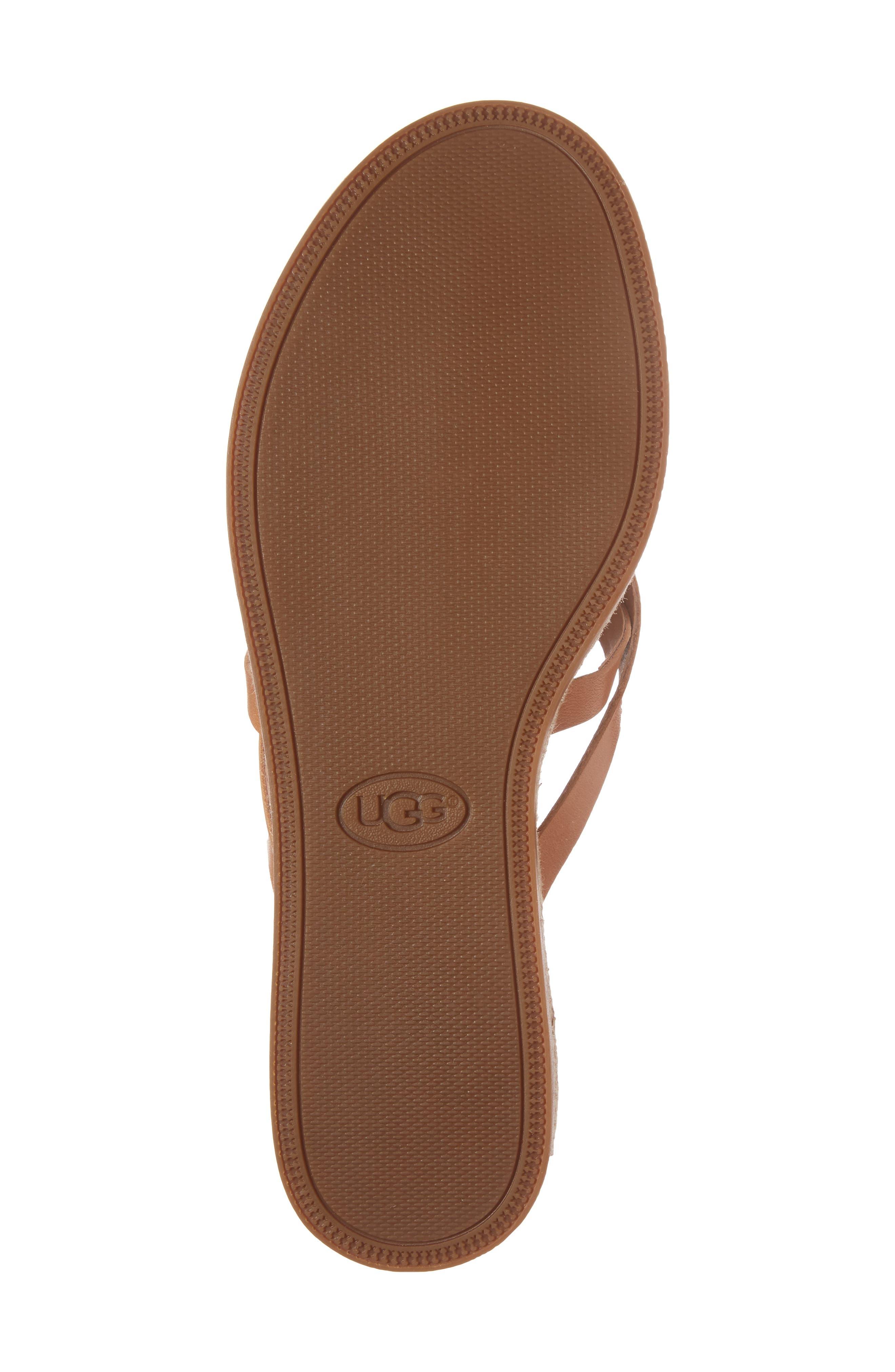 Alternate Image 6  - UGG® Annice Flip Flop (Women)