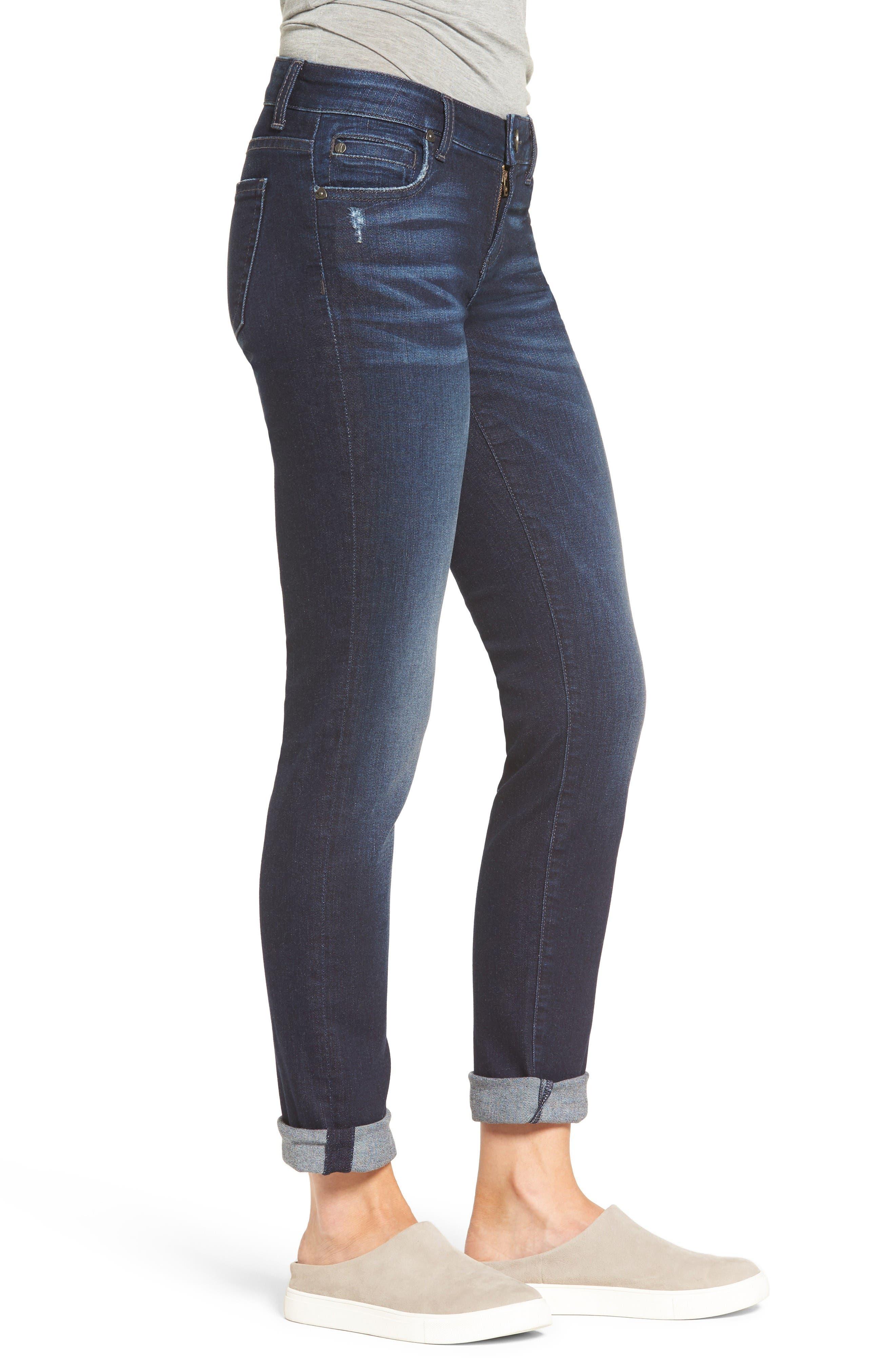 Alternate Image 4  - KUT from the Kloth Catherine Boyfriend Jeans (Regular & Petite) (Vogue)