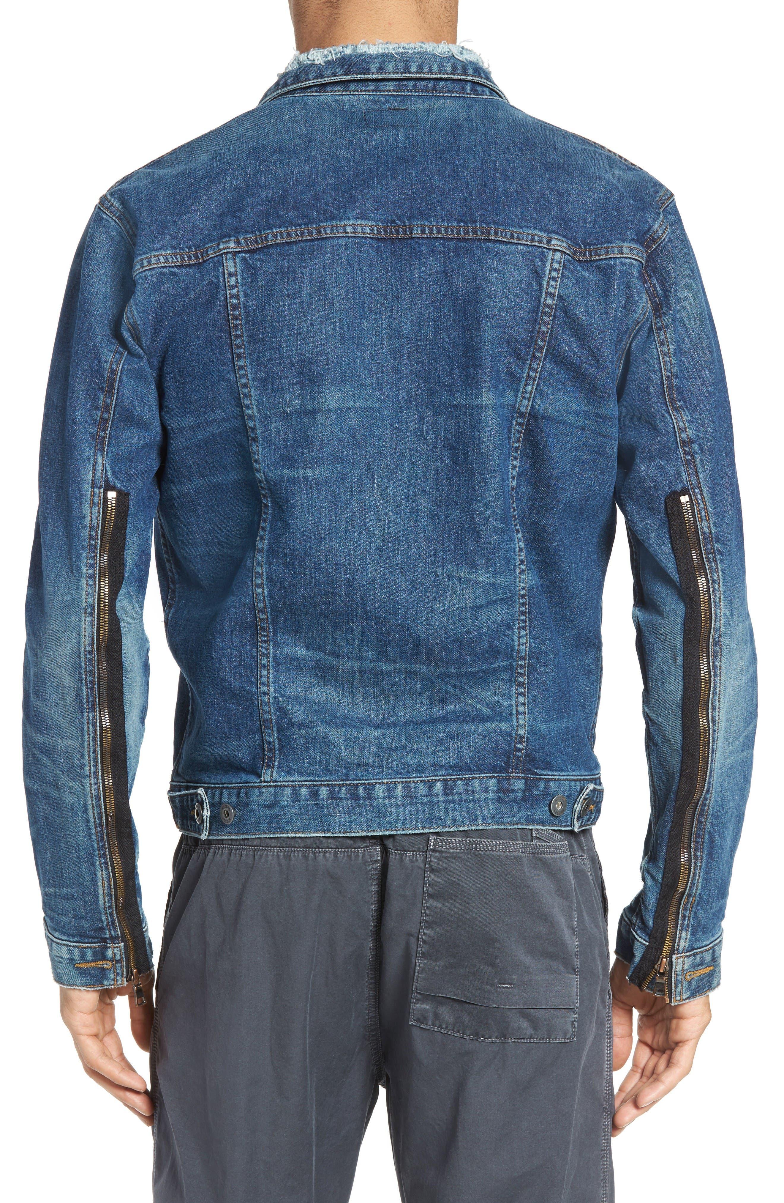 Alternate Image 2  - Hudson Jeans Broc Denim Jacket