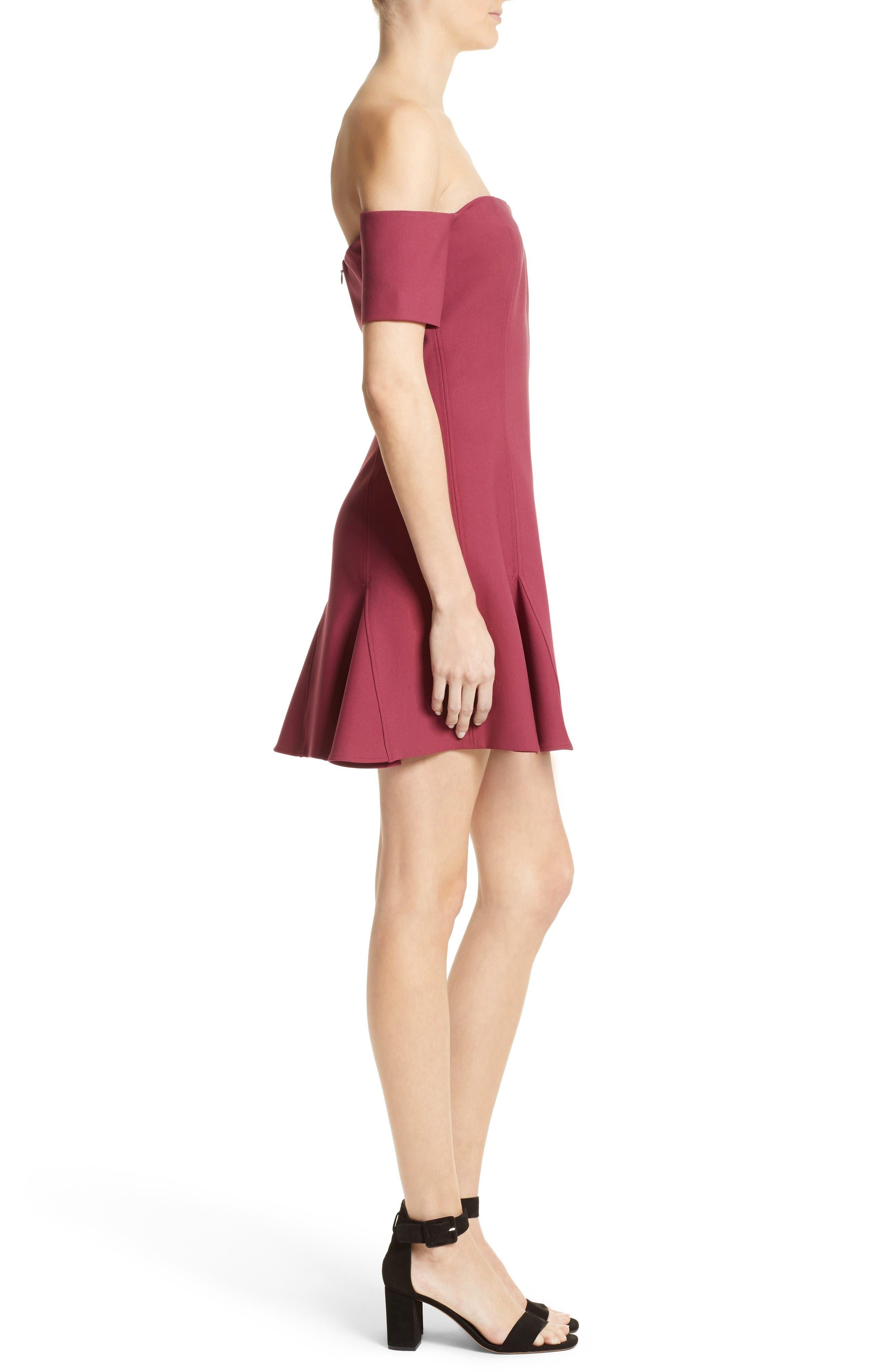 Alternate Image 3  - Cinq à Sept Elva Off the Shoulder Dress