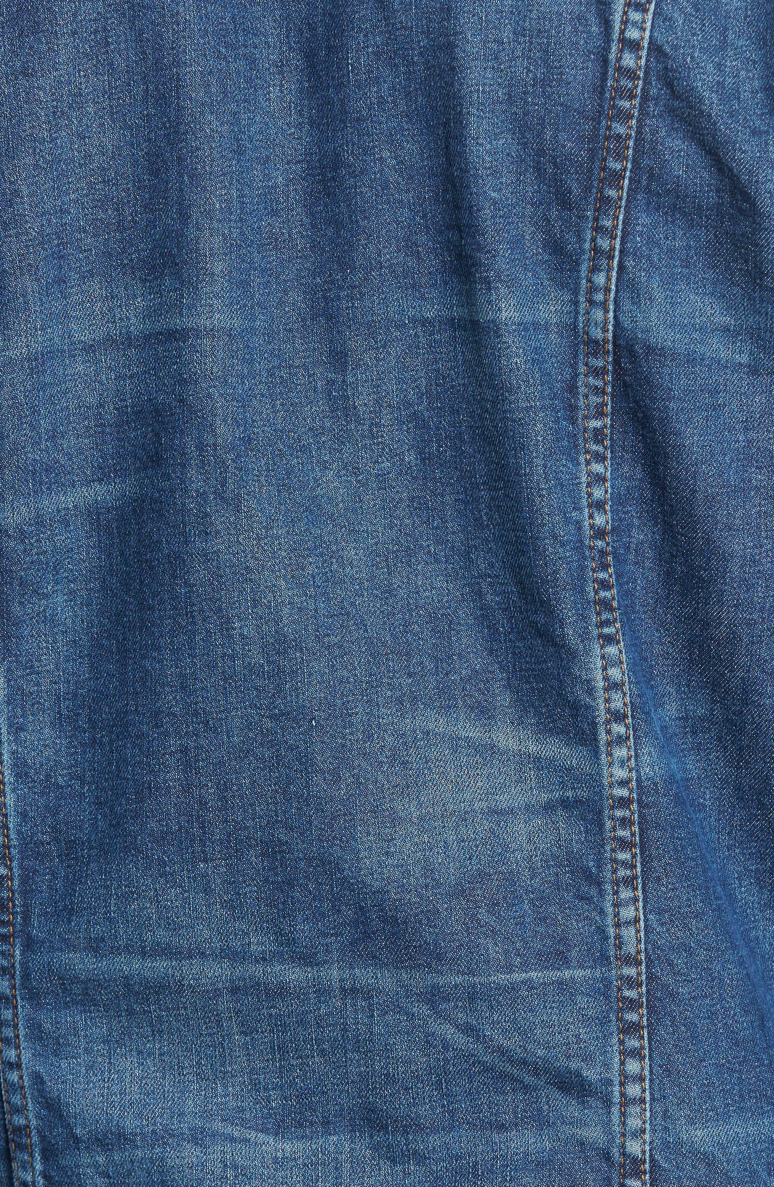 Broc Denim Jacket,                             Alternate thumbnail 5, color,                             Aspirant