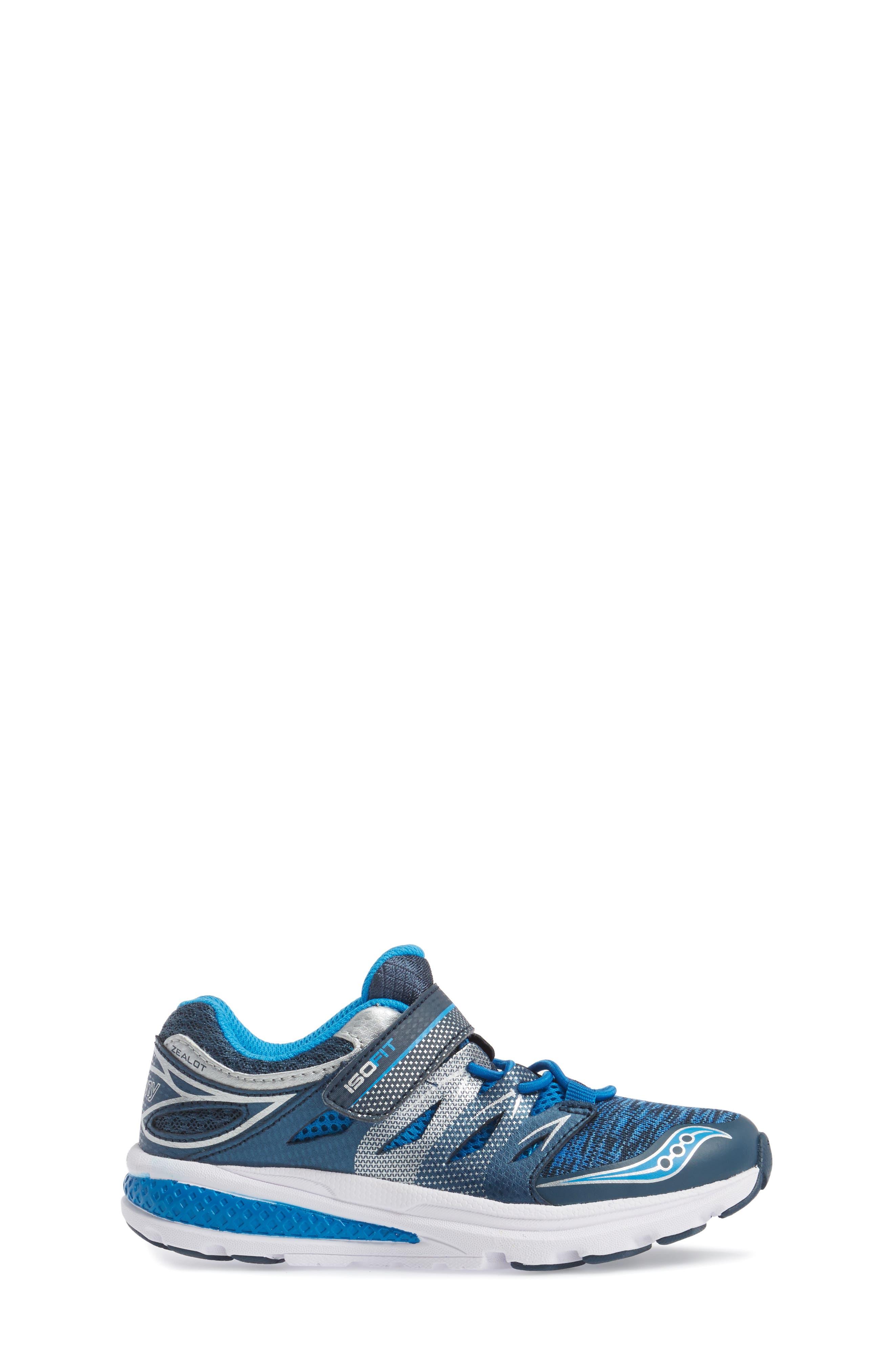 Zealot 2 A/C Sneaker,                             Alternate thumbnail 3, color,                             Royal/ Navy