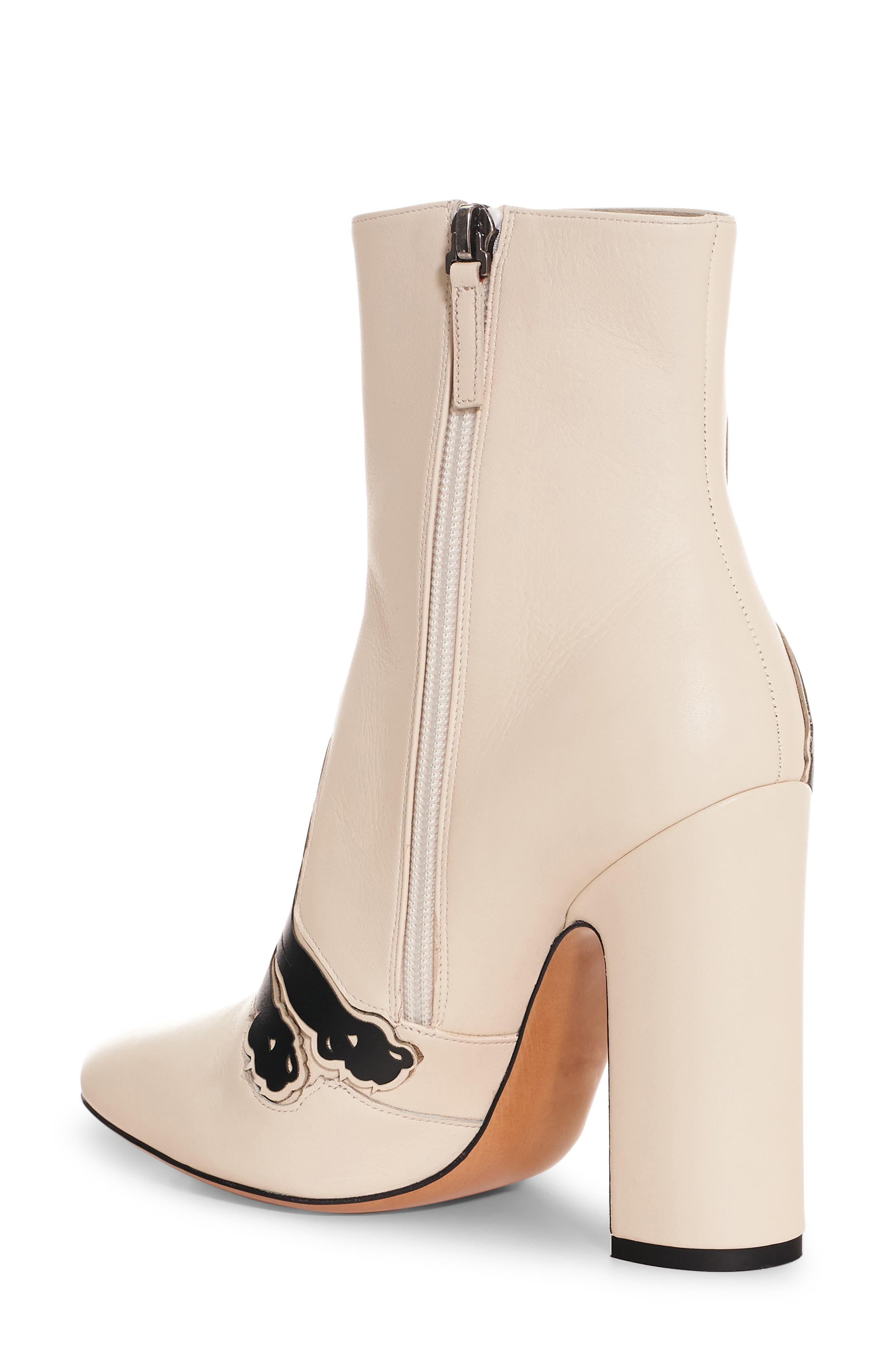 Panther Boot,                             Alternate thumbnail 2, color,                             Ivory Leather