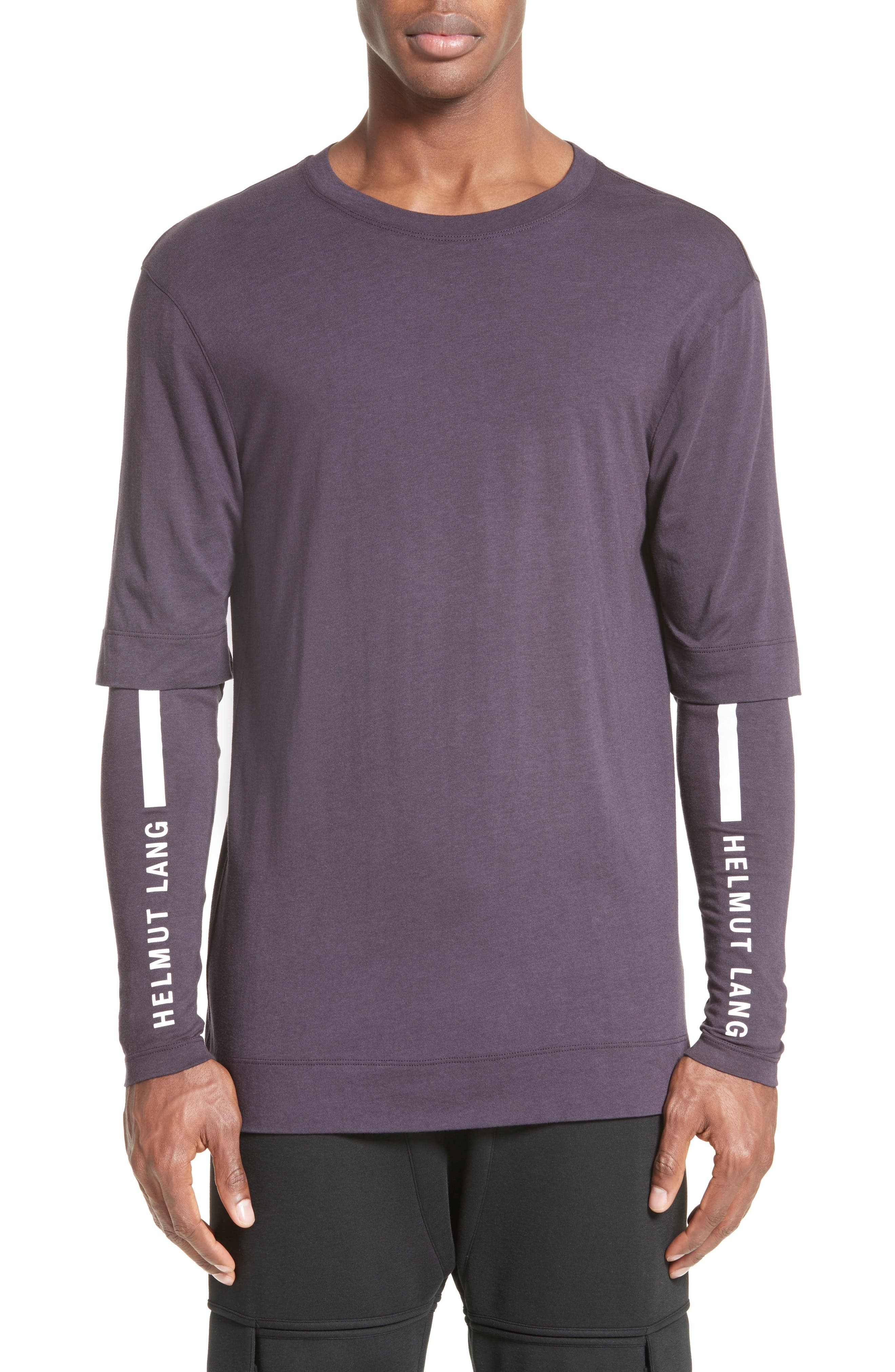 Helmut Lang Double Sleeve T-Shirt
