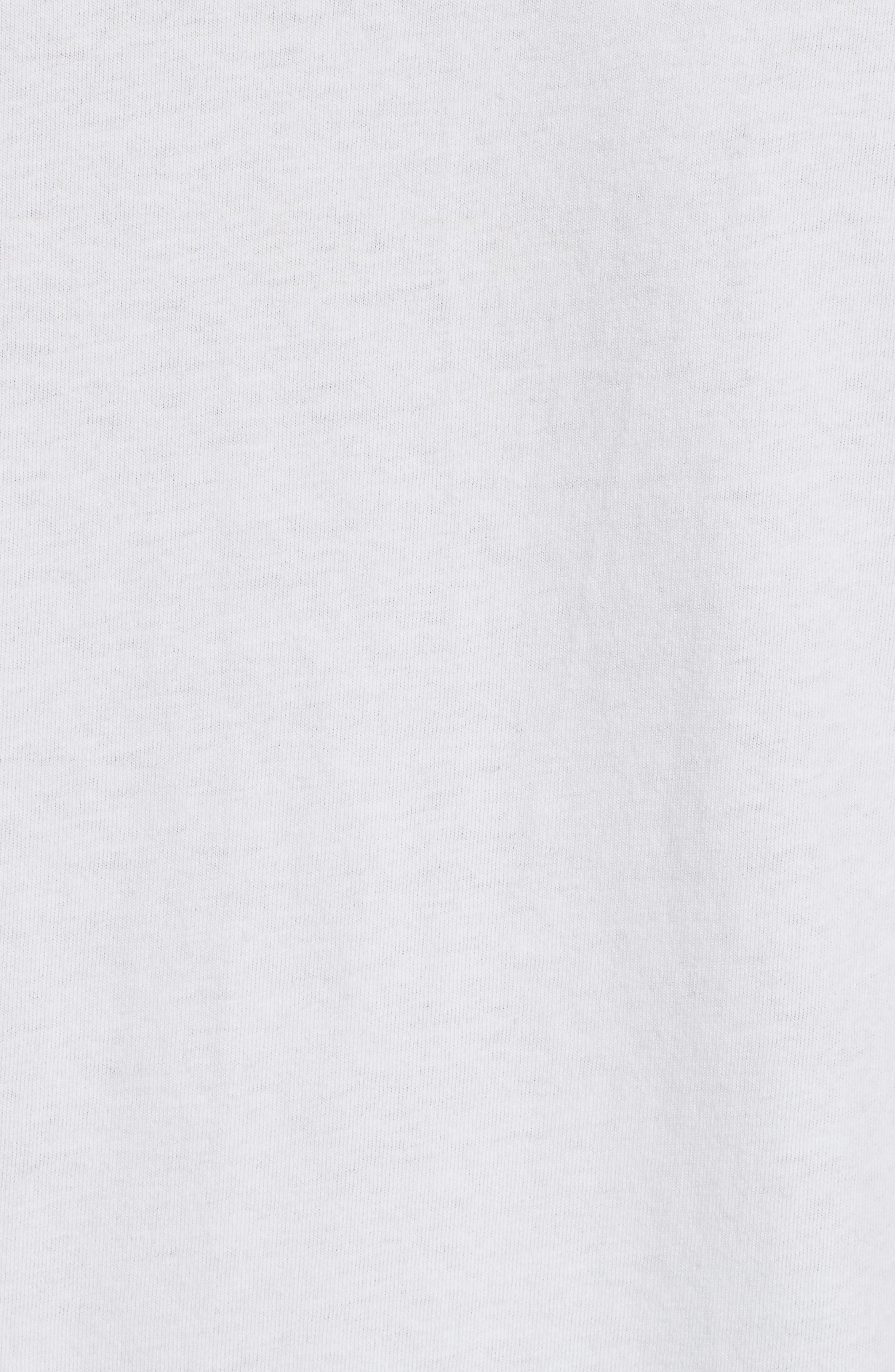Lacquered Logo Tee,                             Alternate thumbnail 4, color,                             White