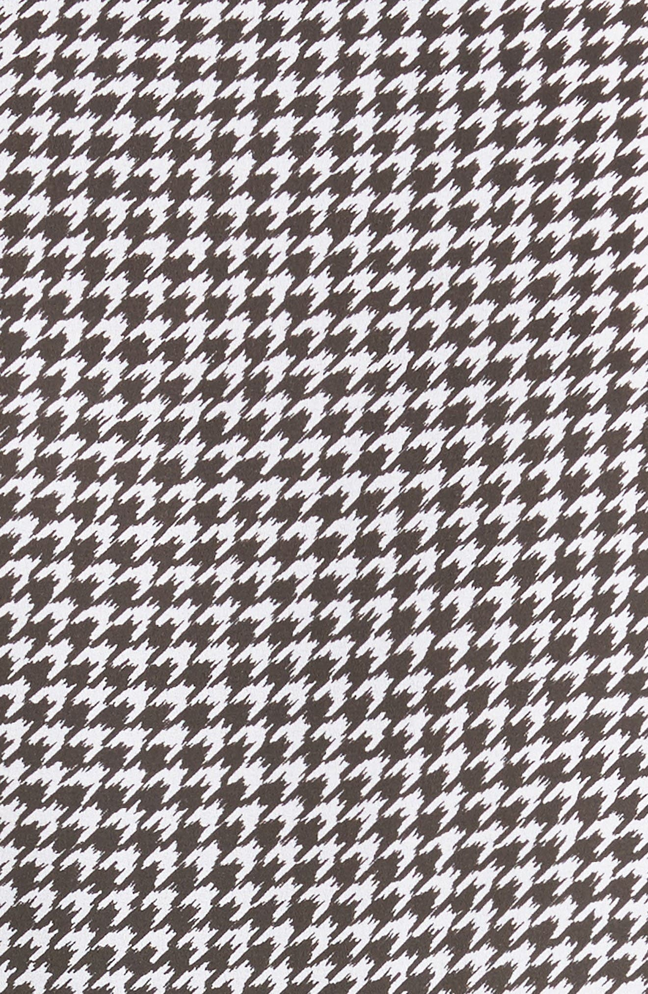 Alternate Image 3  - Michael Kors Houndstooth Silk Georgette Shirt