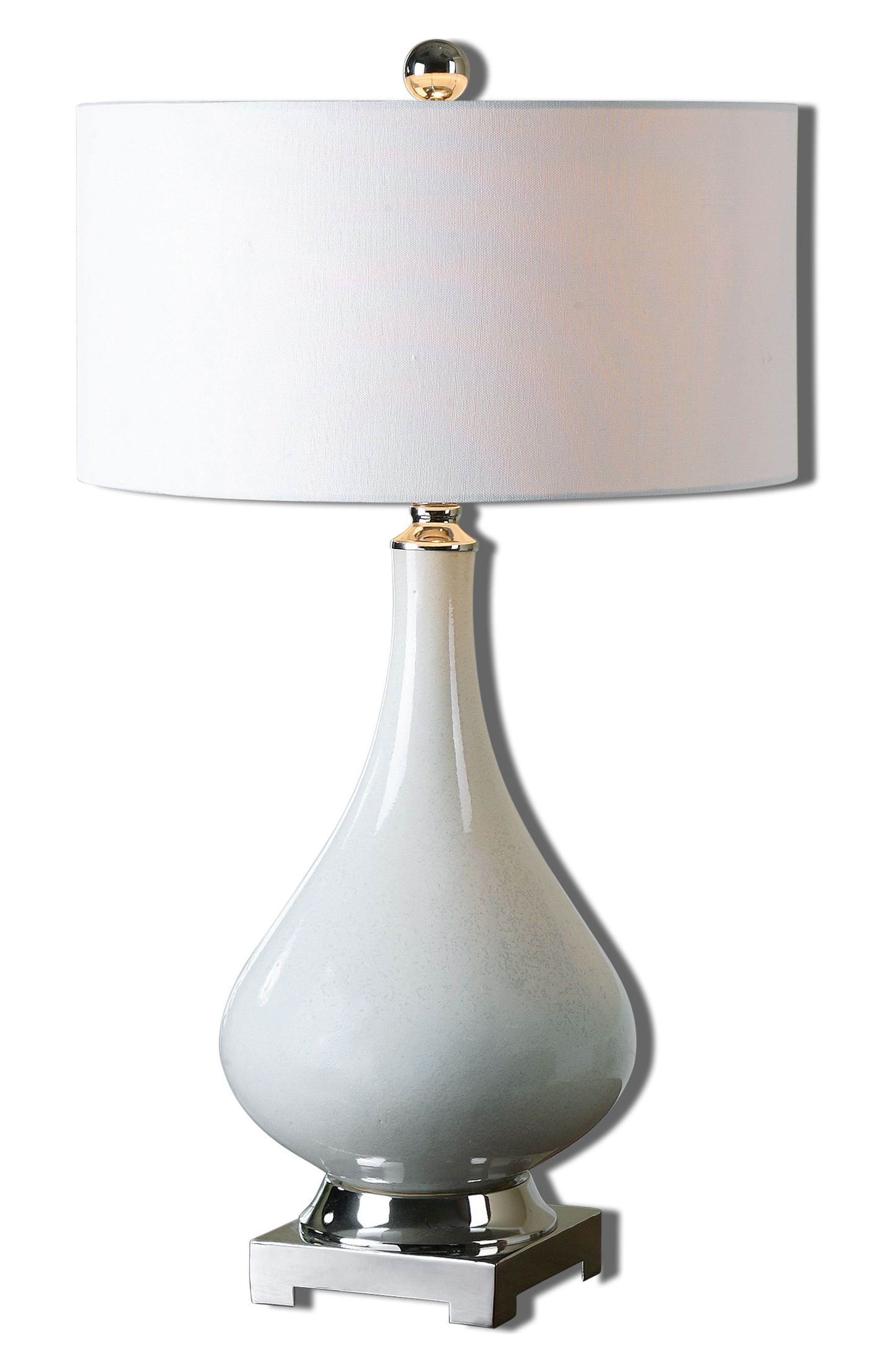 Helton Table Lamp,                         Main,                         color, White