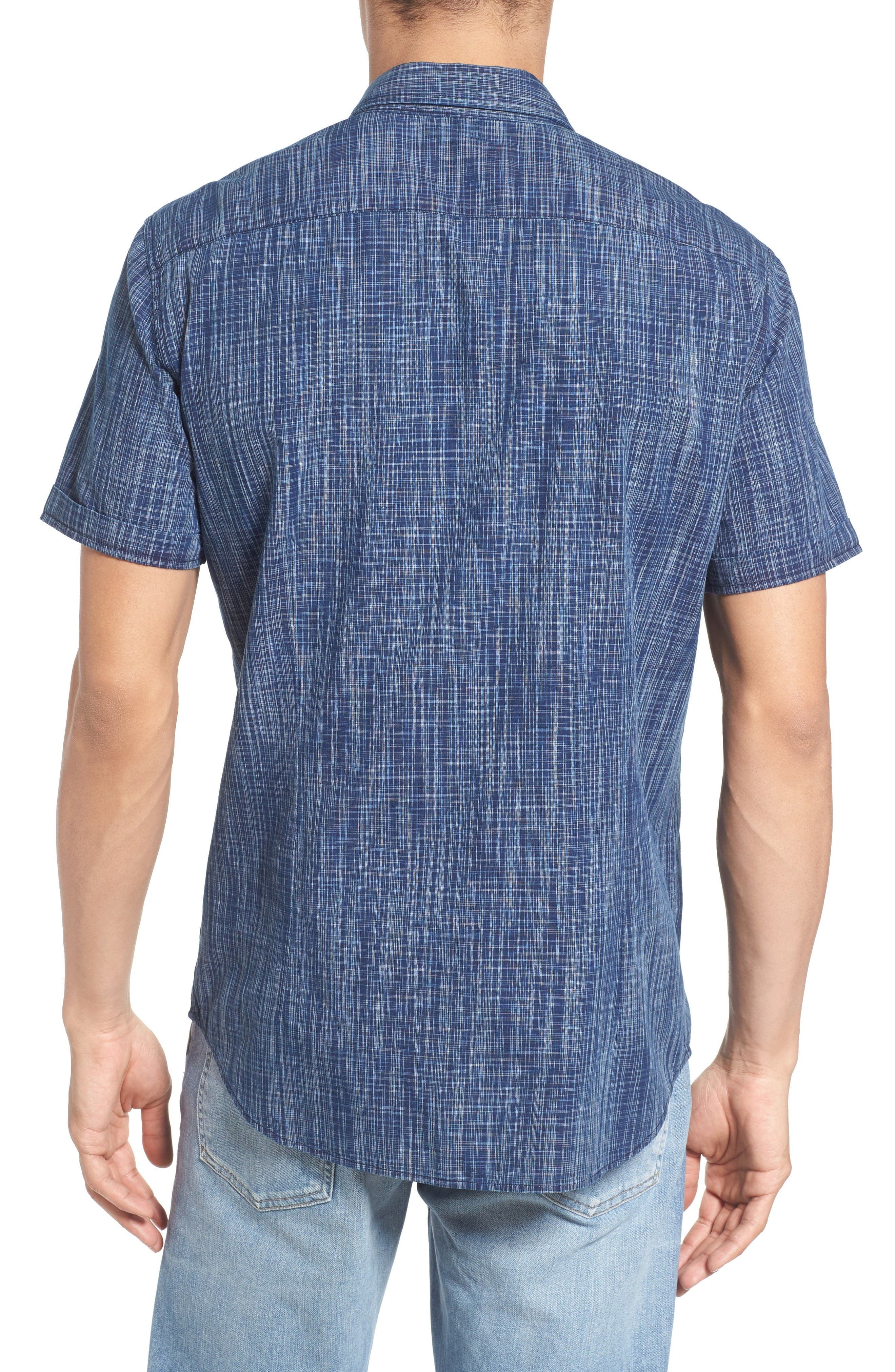 Alternate Image 2  - John Varvatos Star USA Cotton Sport Shirt