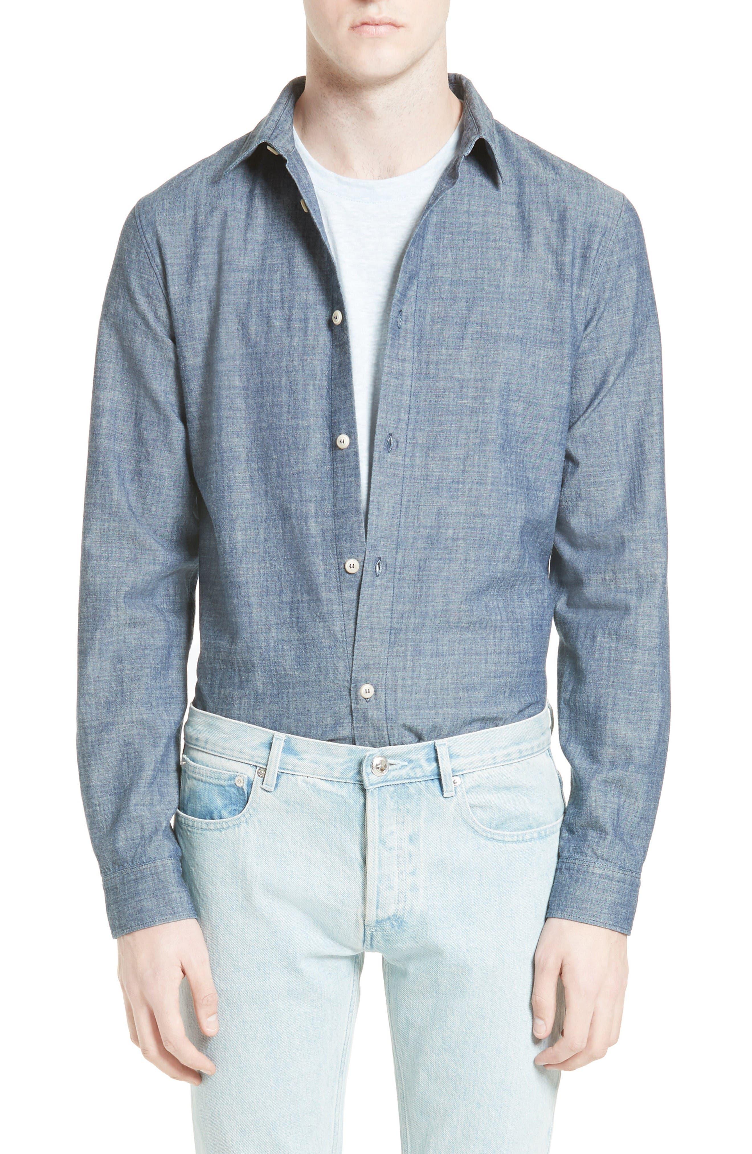 Main Image - A.P.C. Hector Denim Shirt