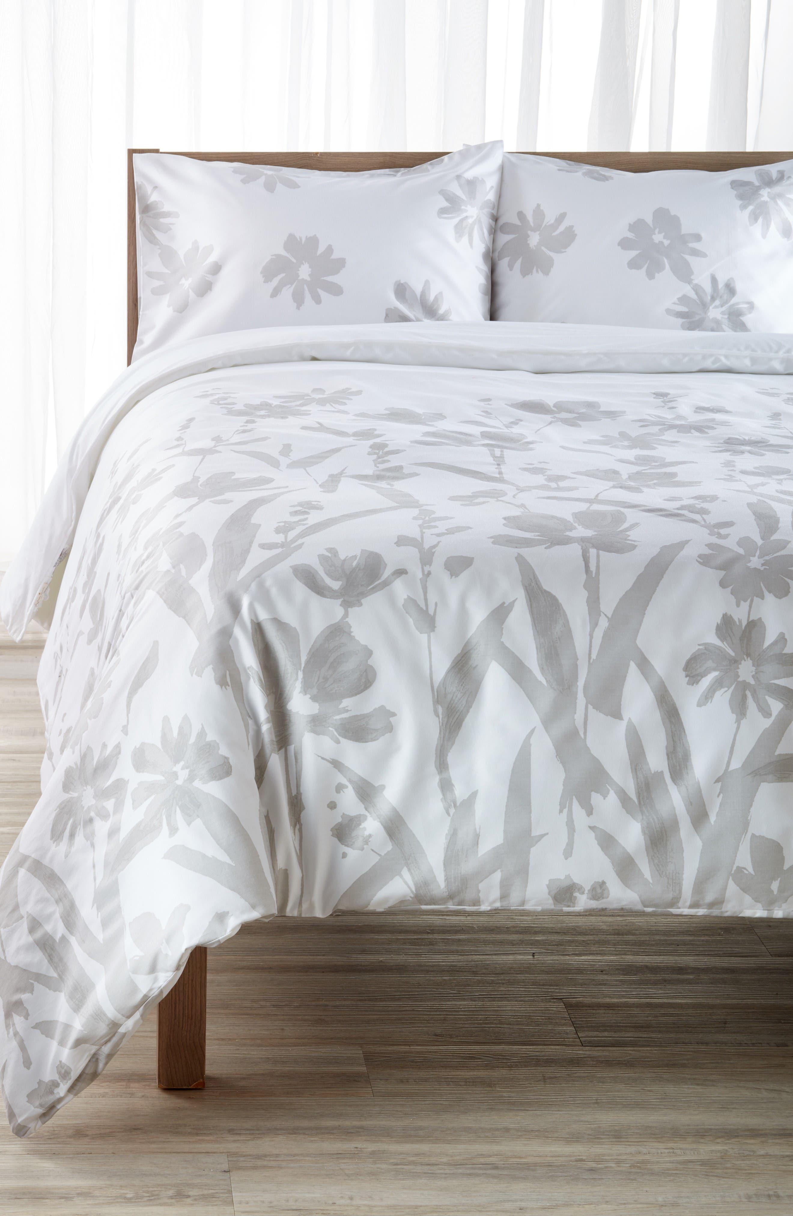 Main Image - kate spade new york brushstroke garden comforter & sham set
