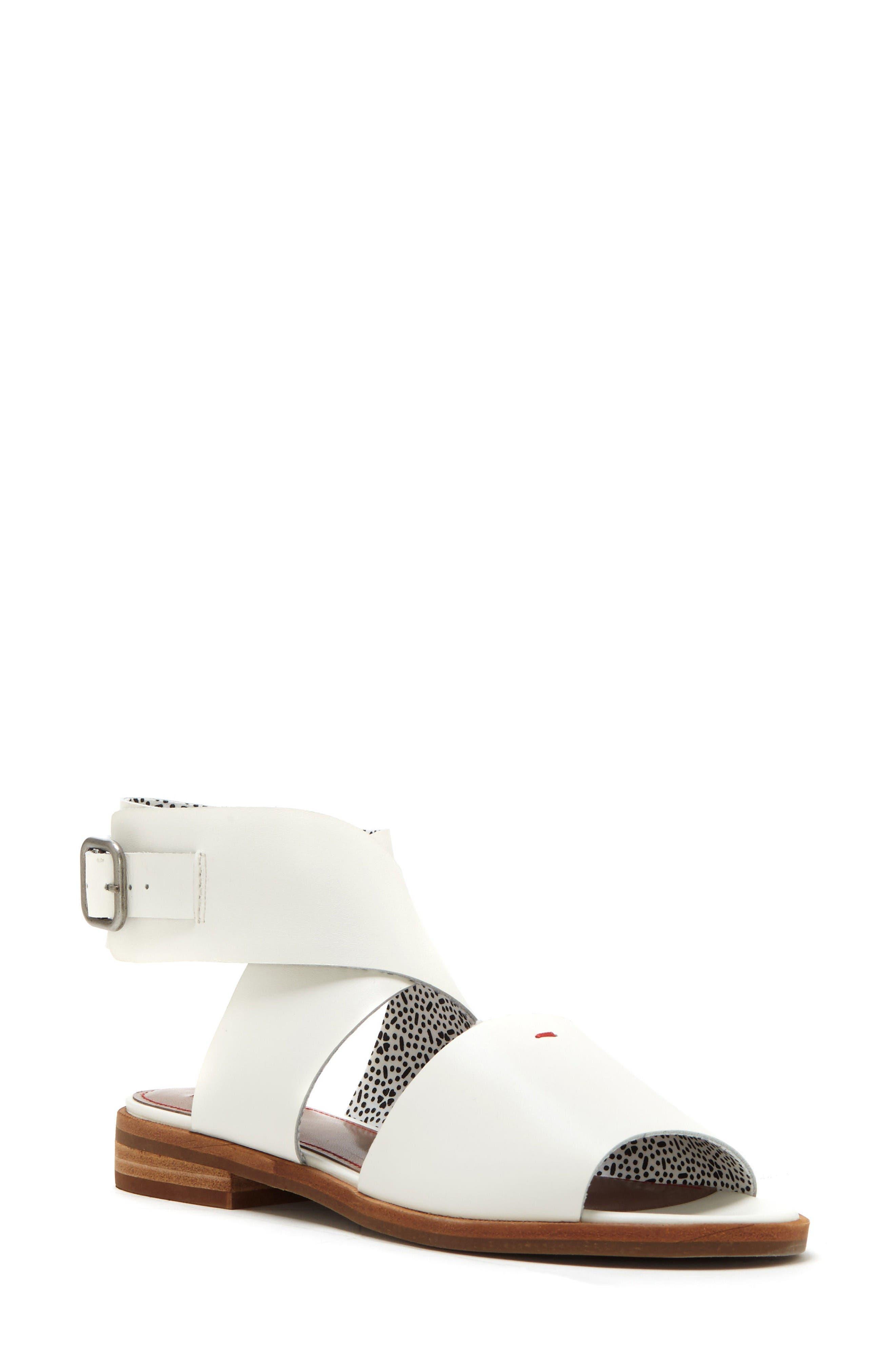 Sanja Sandal,                         Main,                         color, Milk Leather