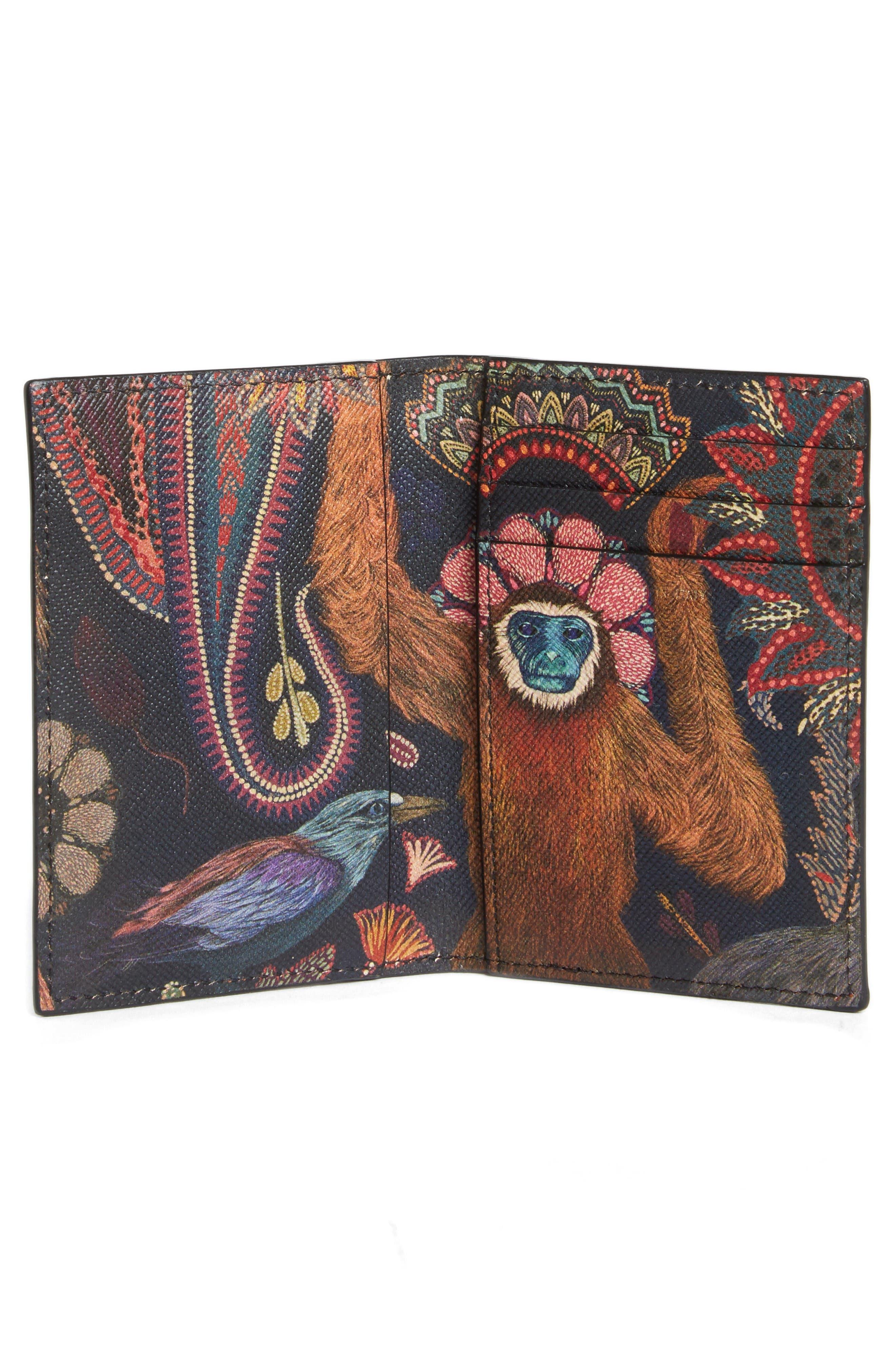Alternate Image 2  - Paul Smith Horniman Print Leather Wallet