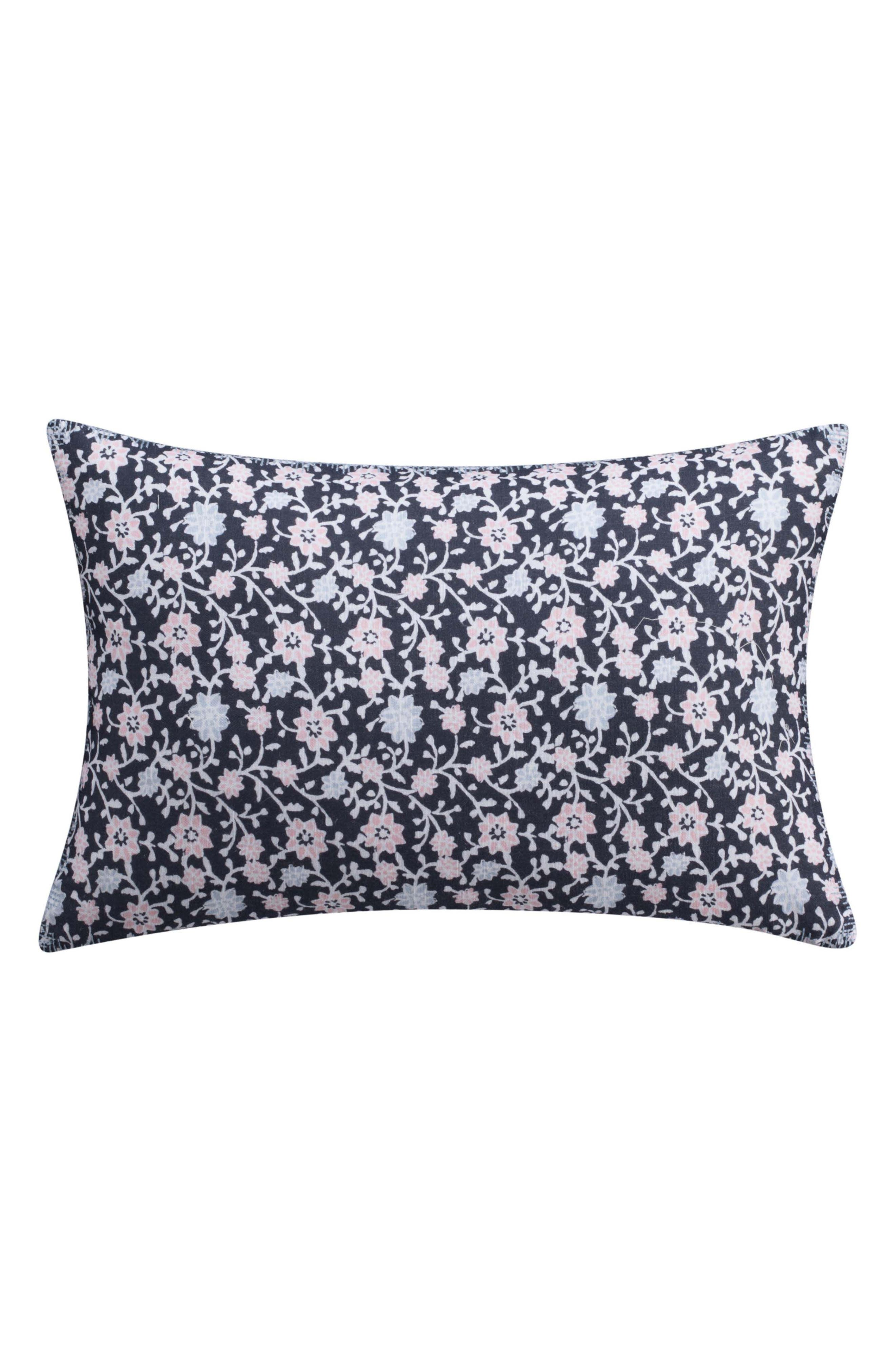 Main Image - cupcakes and cashmere Floral Print Accent Pillow