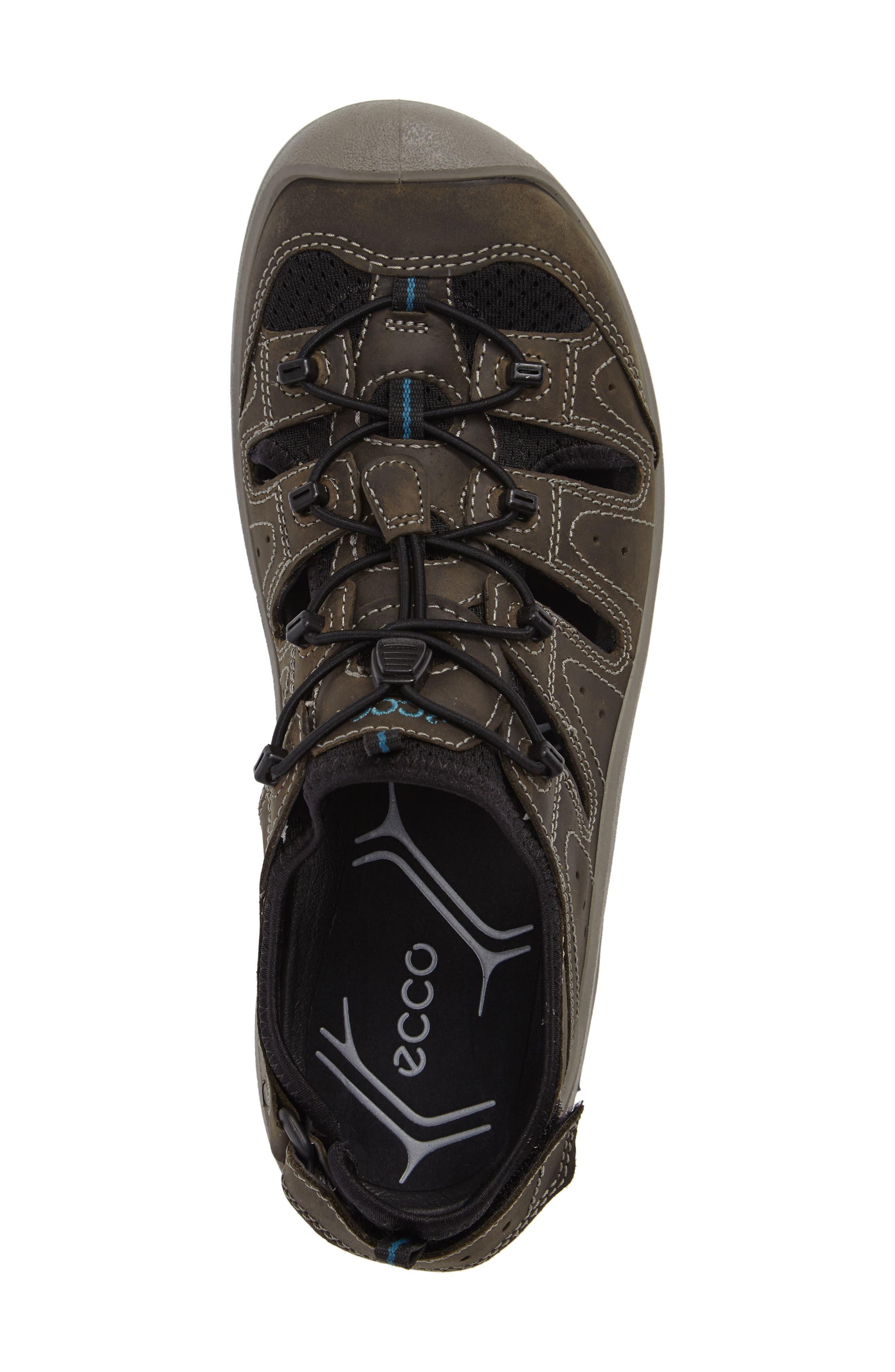 'BIOM Delta Offroad' Sandal,                             Alternate thumbnail 5, color,                             Tarmac/ Black
