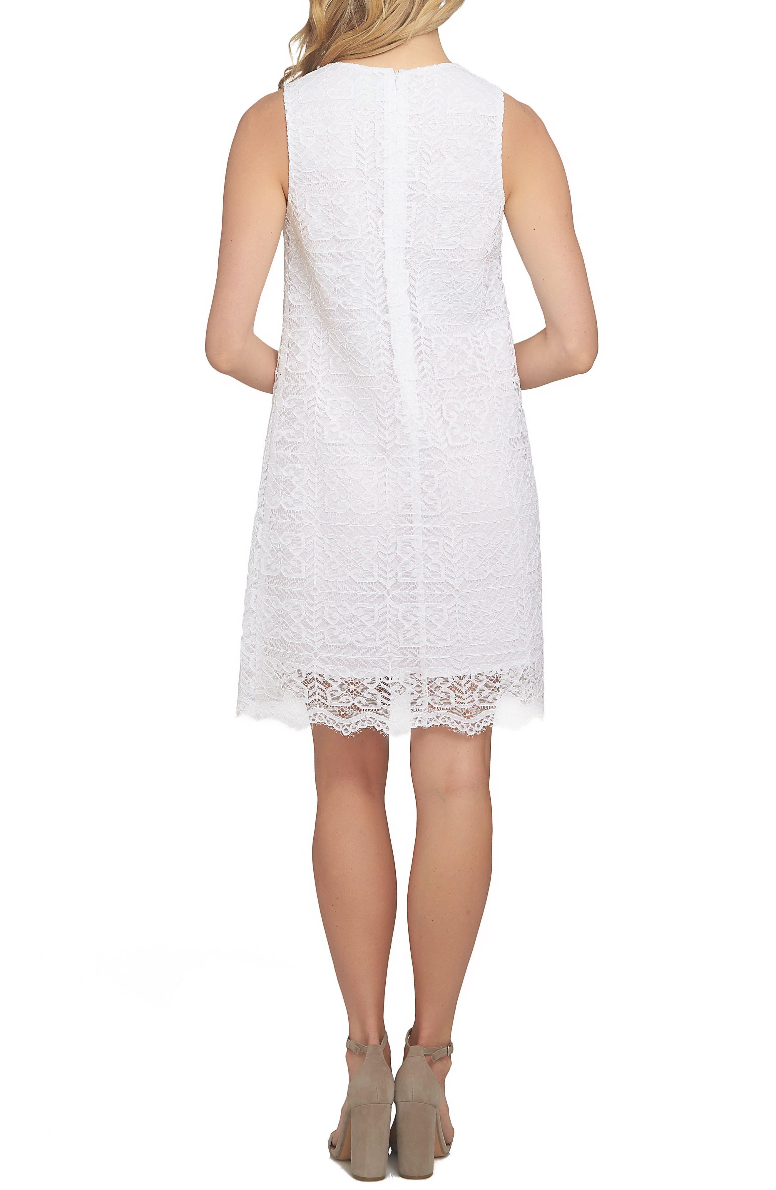 Alternate Image 2  - CeCe Arlington A-Line Dress