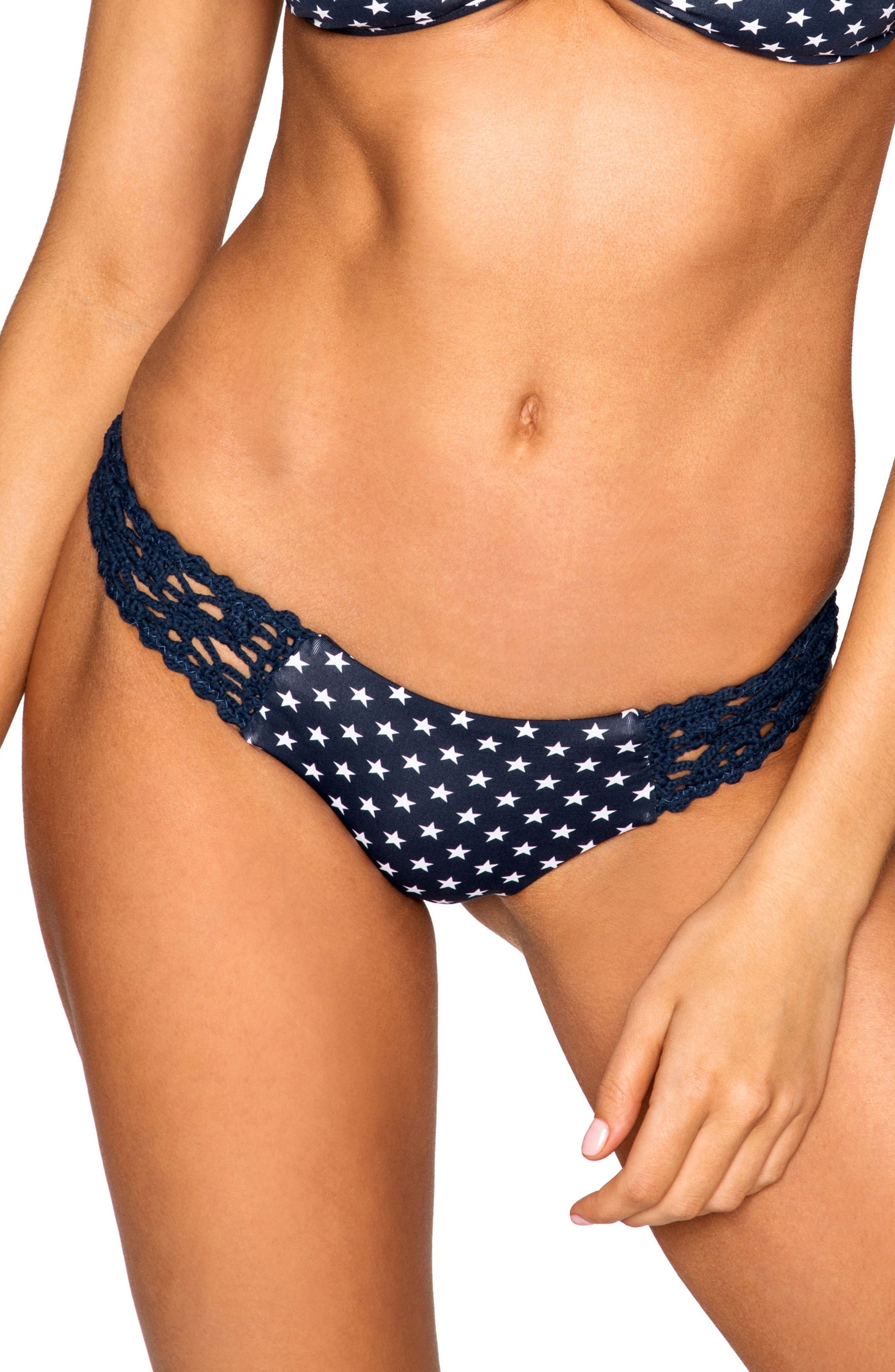 Main Image - Frankies Bikinis Tanner Bikini Bottoms