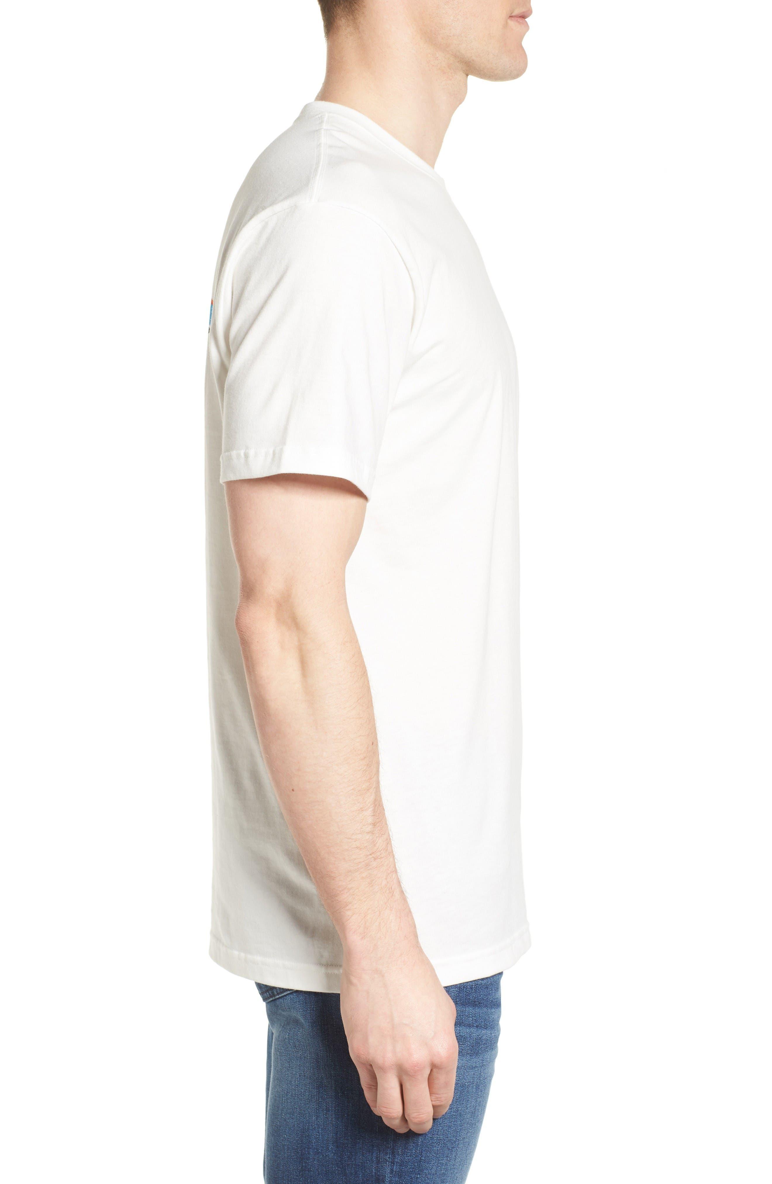 Fitz Roy Tarpon Regular Fit T-Shirt,                             Alternate thumbnail 3, color,                             White