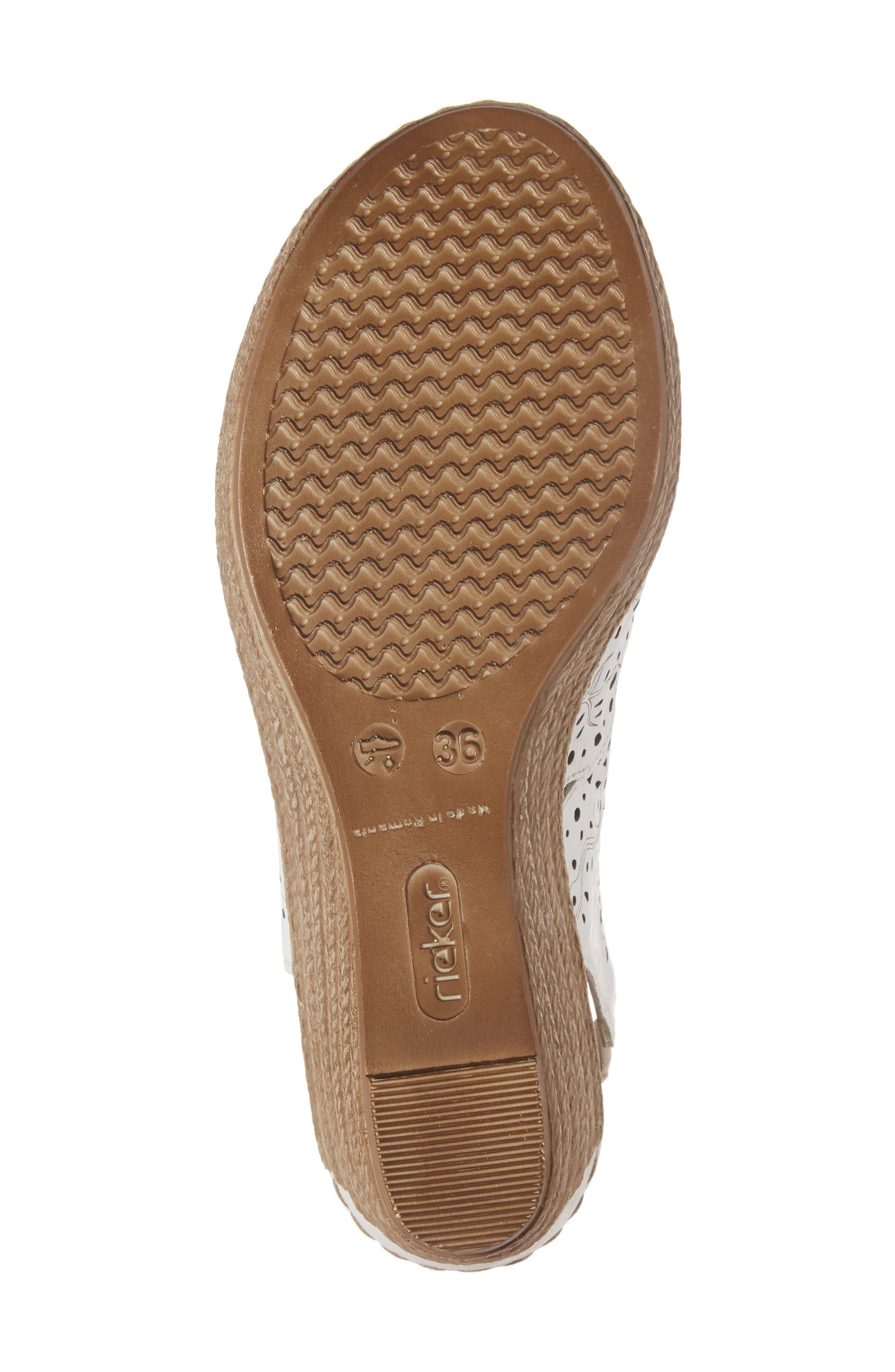 Alternate Image 6  - Rieker Antistress Fanni Wedge Sandal (Women)