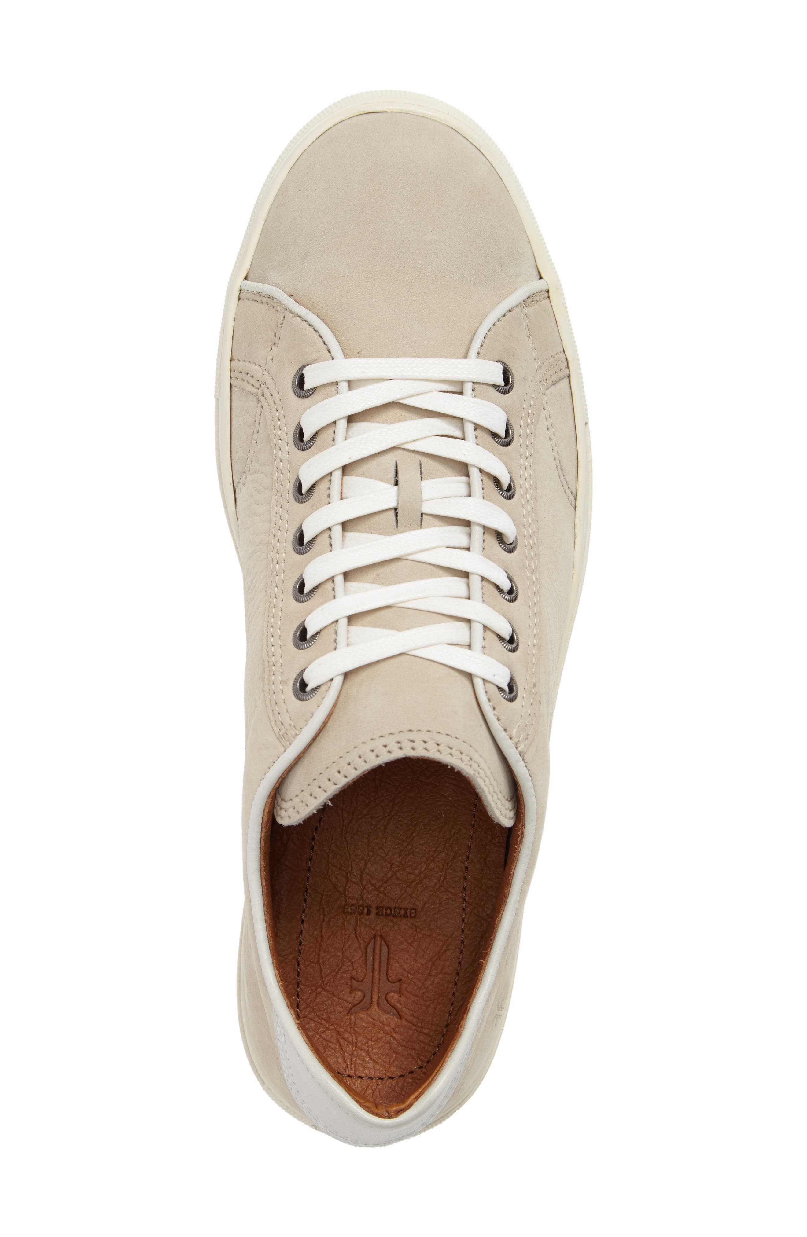 Walker Low Top Sneaker,                             Alternate thumbnail 5, color,                             Ivory