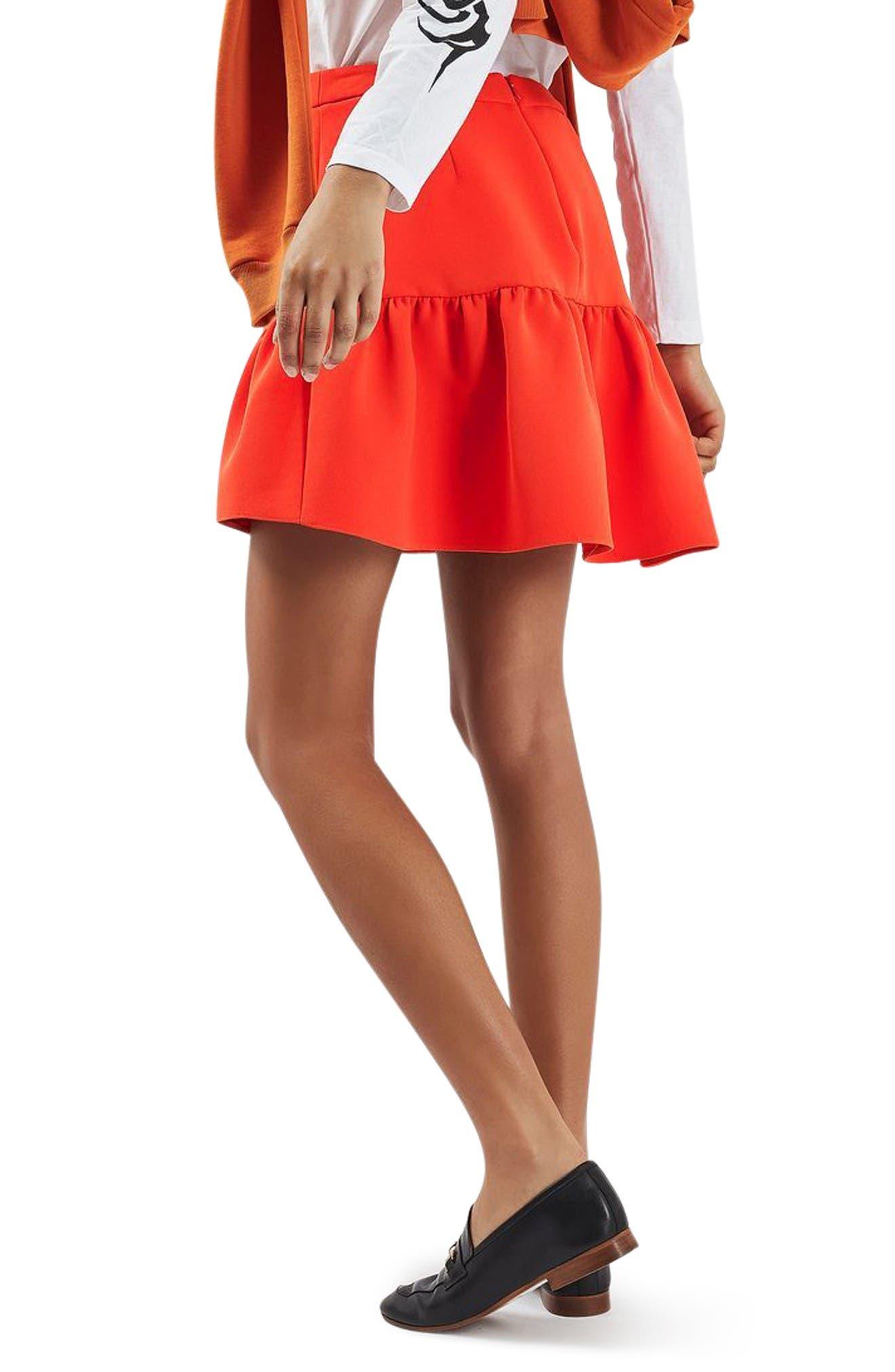 Alternate Image 3  - Topshop Peplum Skirt