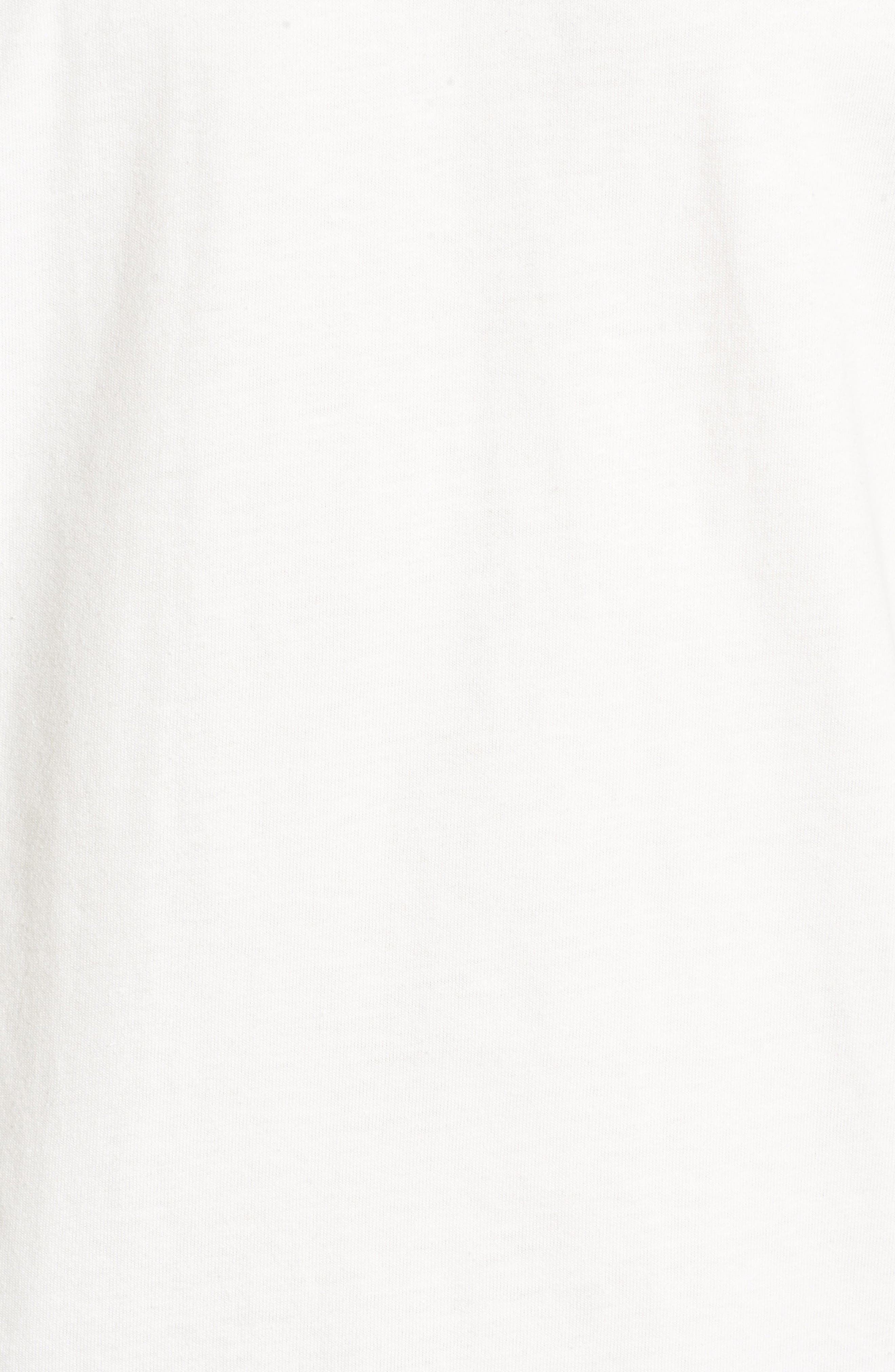 Fitz Roy Tarpon Regular Fit T-Shirt,                             Alternate thumbnail 5, color,                             White