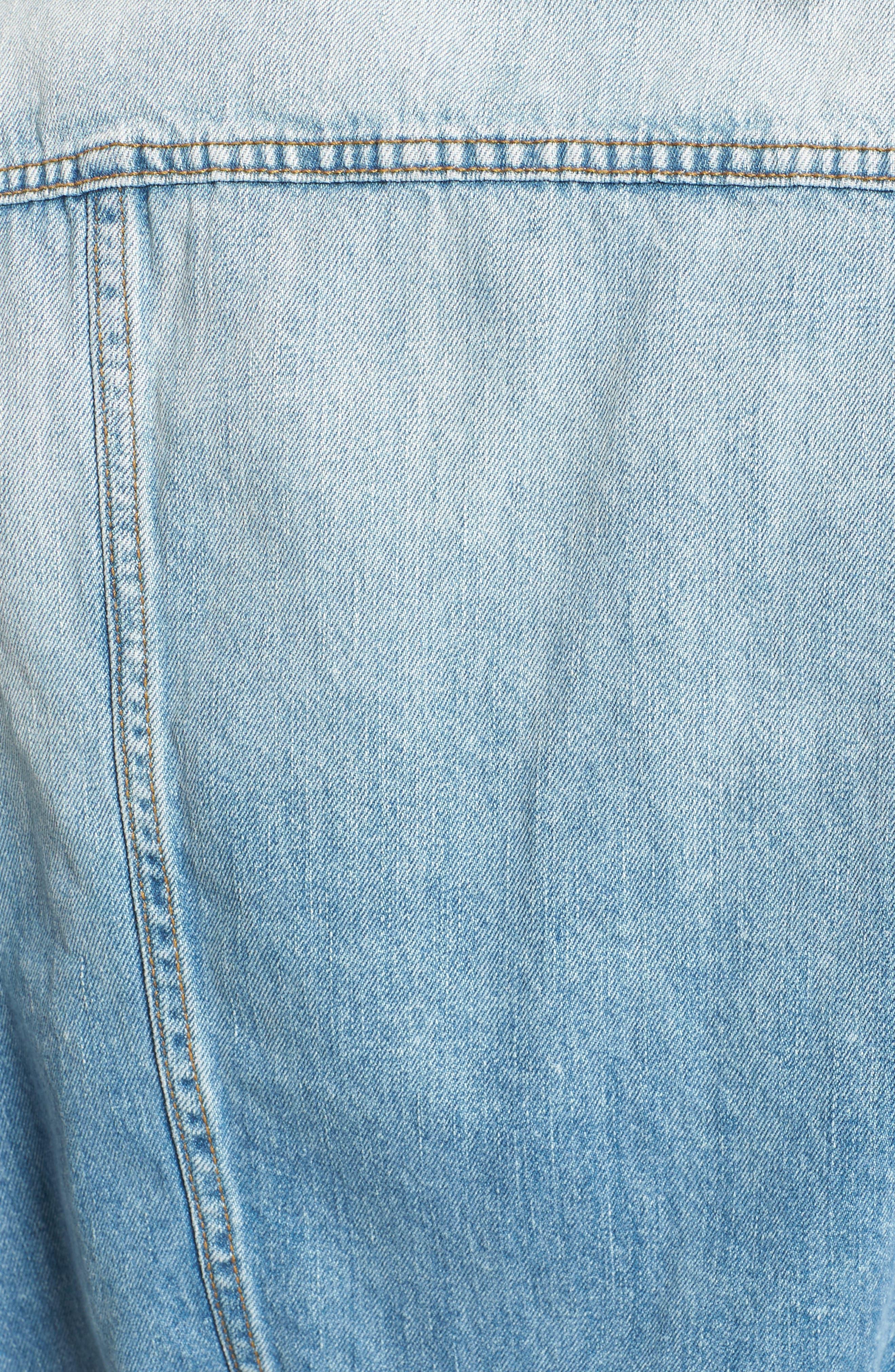Alternate Image 5  - Band of Gypsies Studded Denim Vest