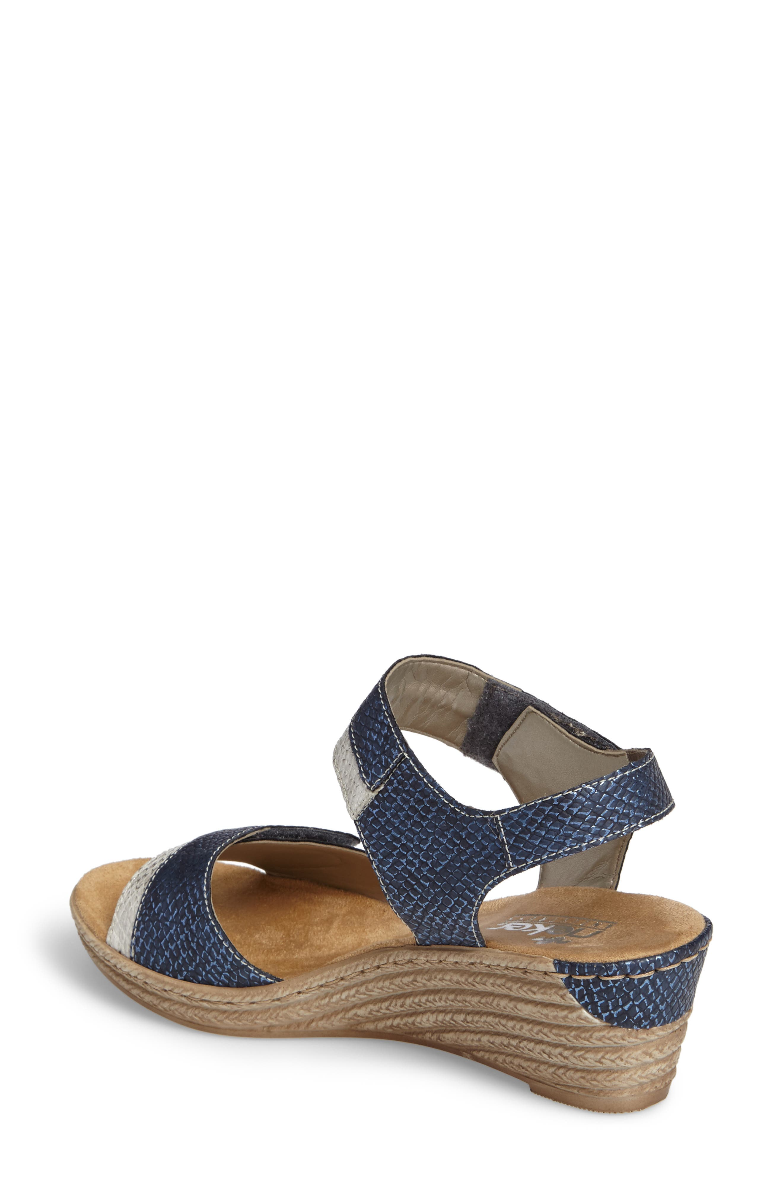 Alternate Image 2  - Rieker Antistress Fanni 70 Wedge Sandal (Women)
