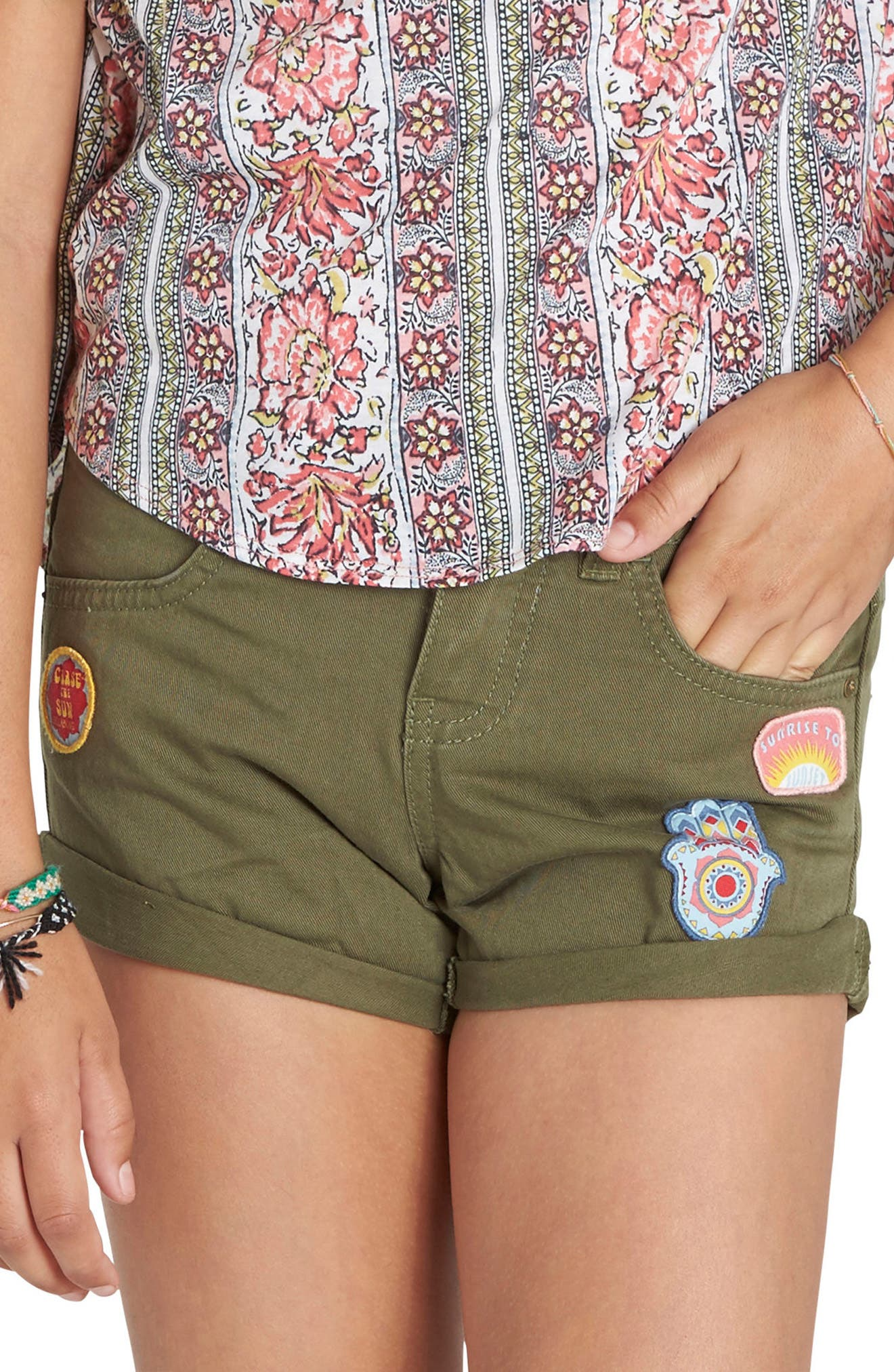 Billabong Sea & Me Twill Shorts (Little Girls & Big Girls)
