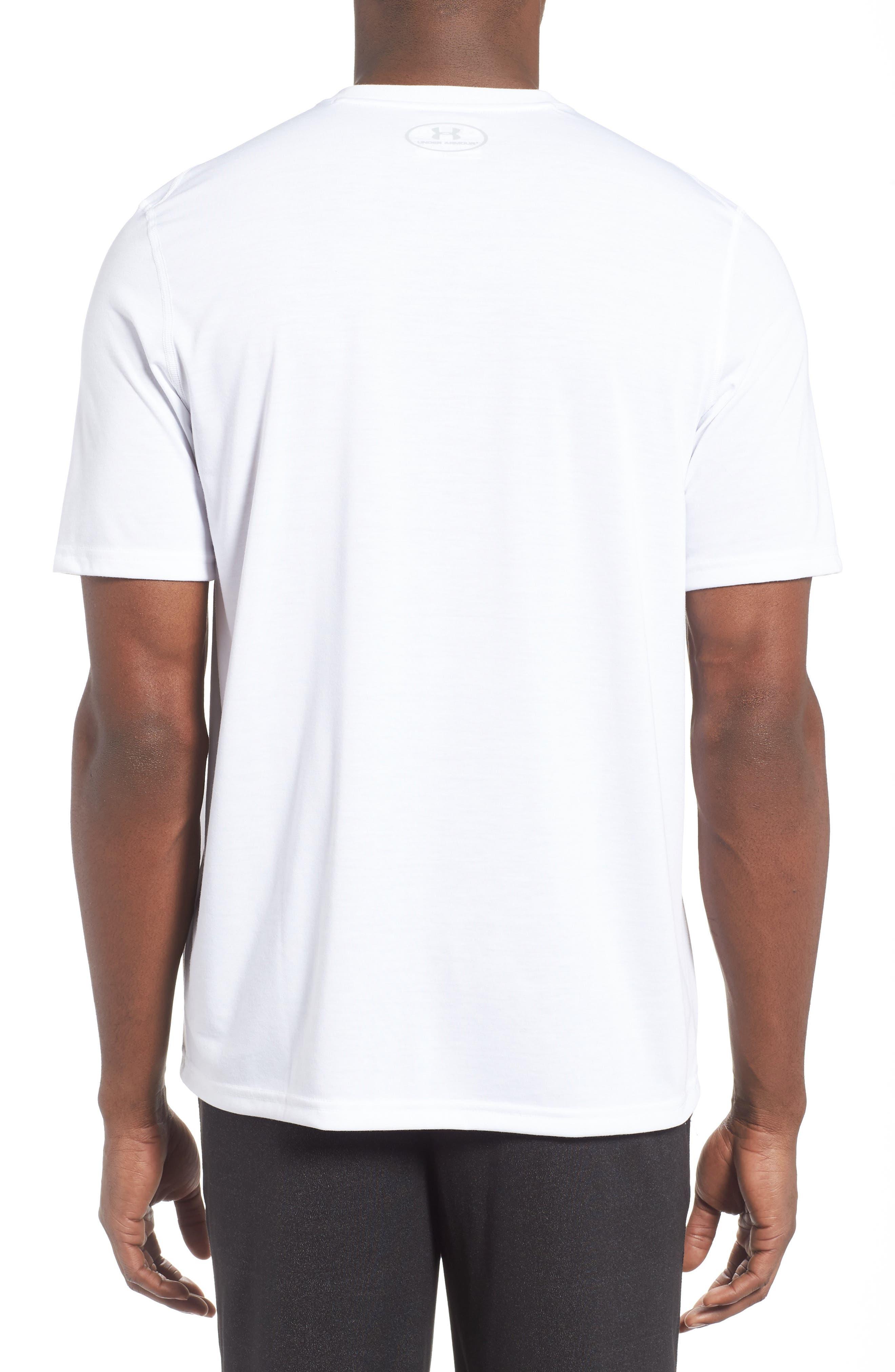 Alternate Image 3  - Under Armour Regular Fit Threadborne T-Shirt