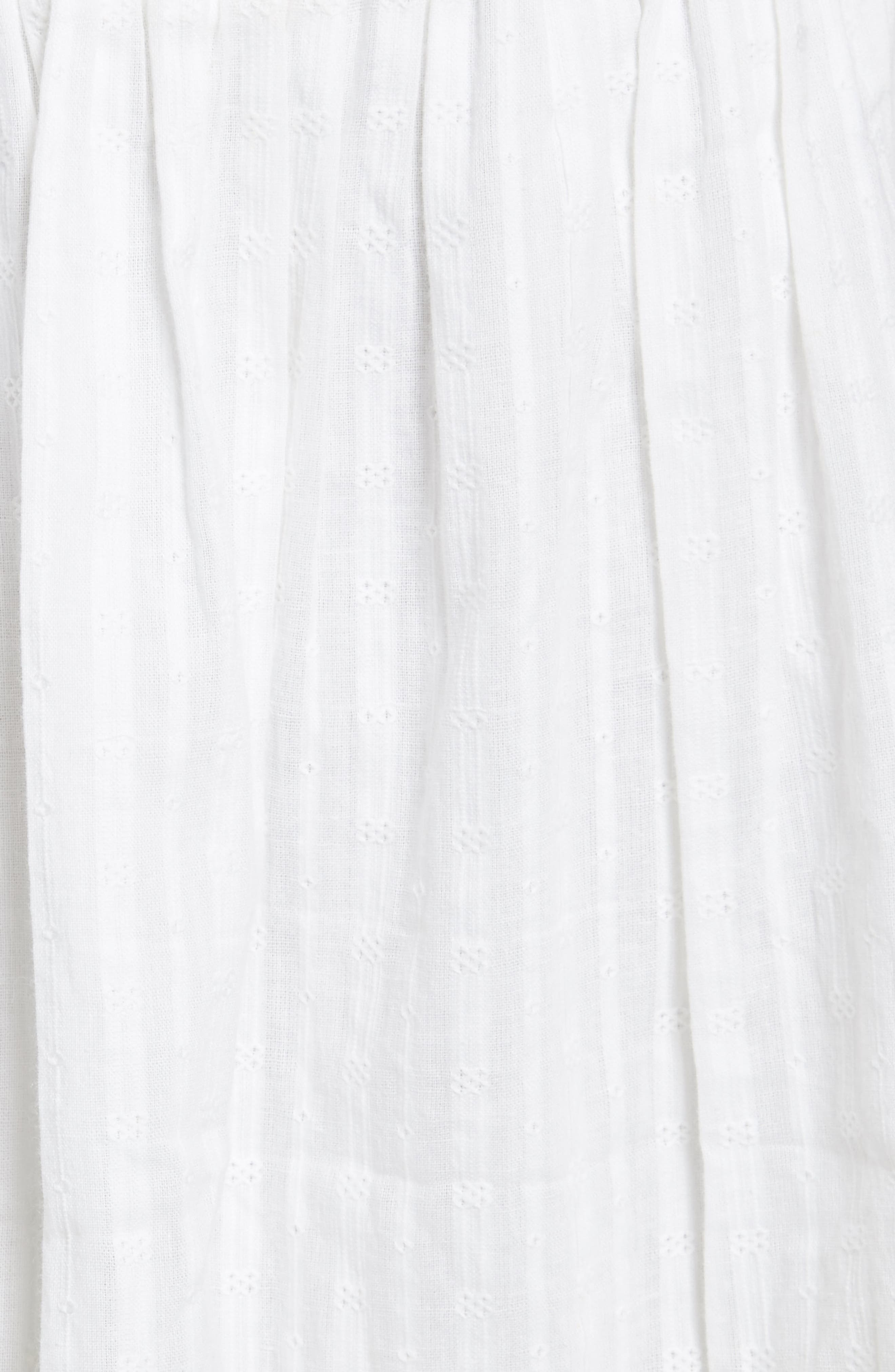 The Afternoon Skirt,                             Alternate thumbnail 6, color,                             Off White