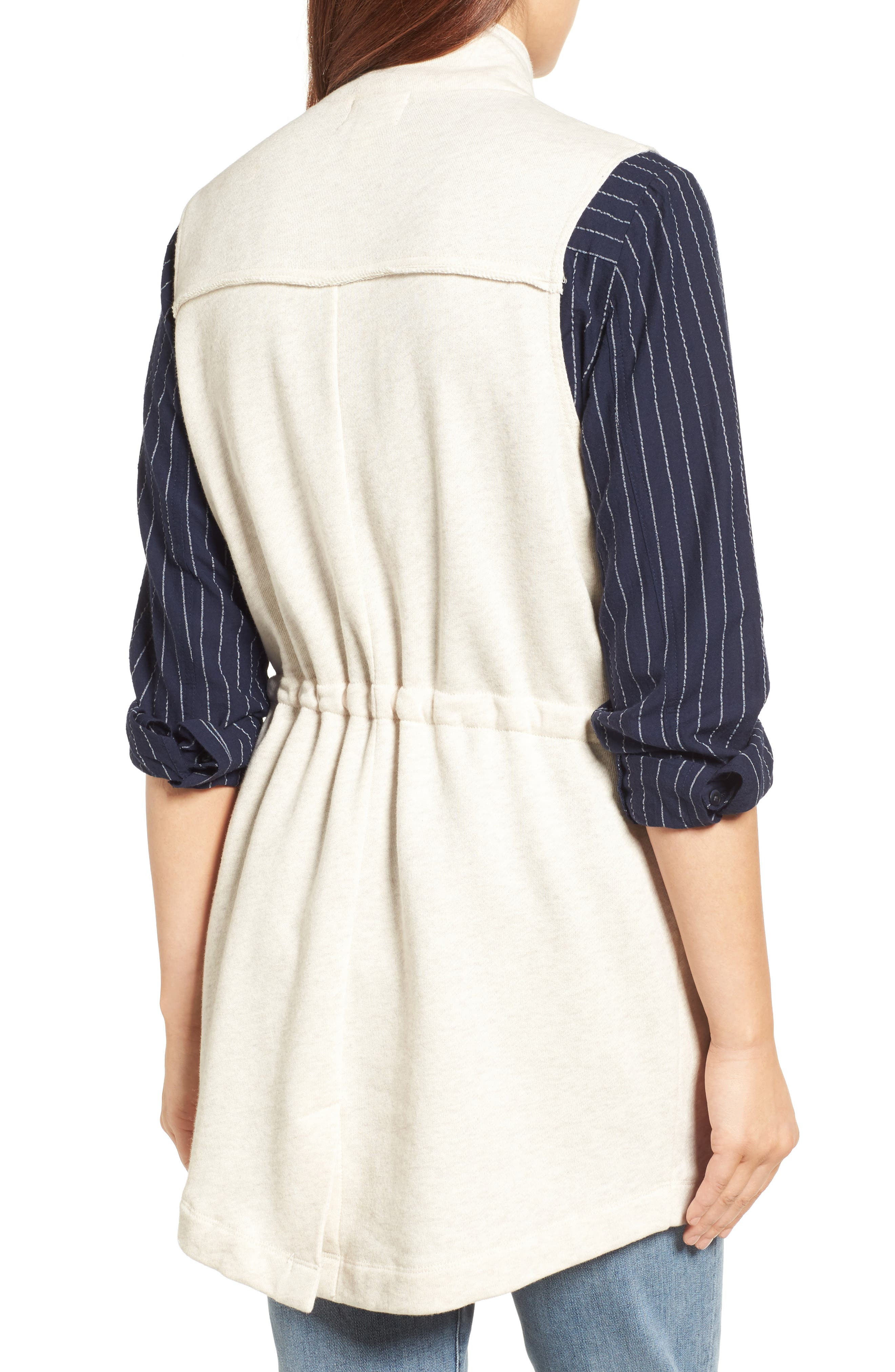 Alternate Image 2  - Caslon® Utility Vest (Regular & Petite)