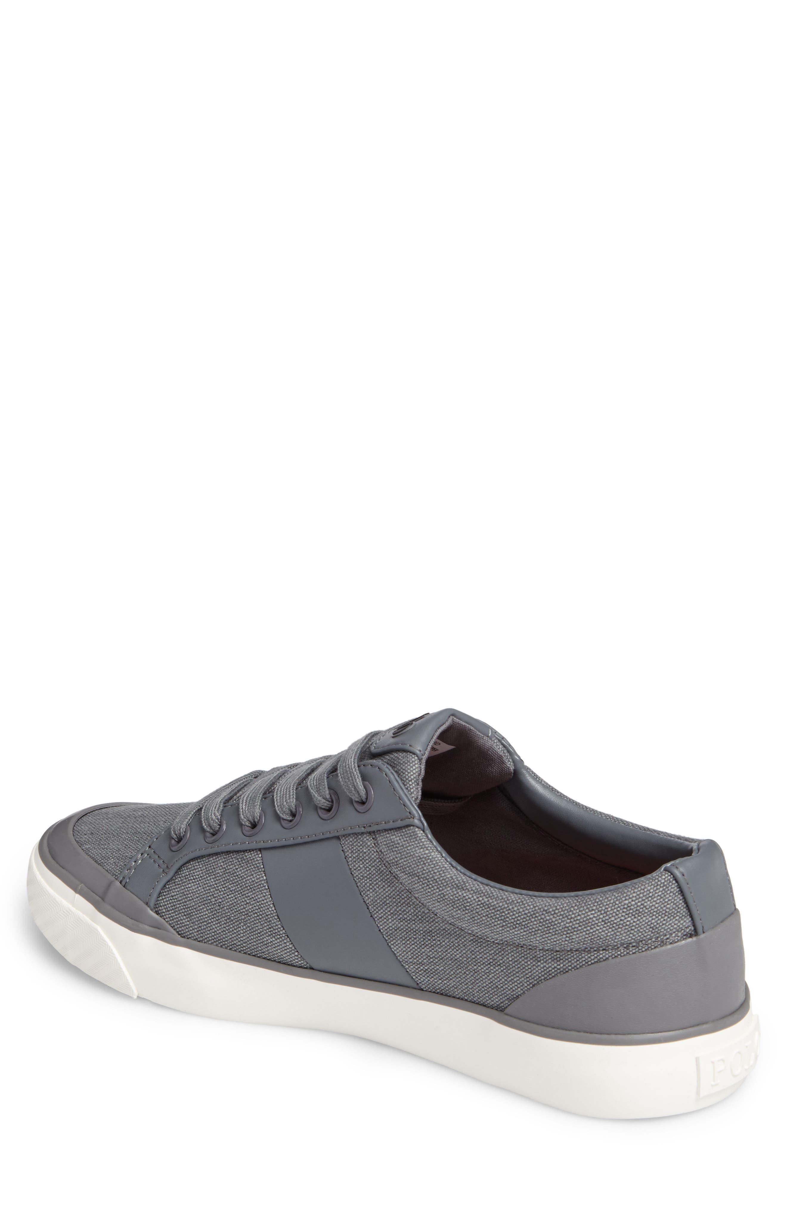 Polo Ralph Lauren Ian Sneaker,                             Alternate thumbnail 2, color,                             Slate