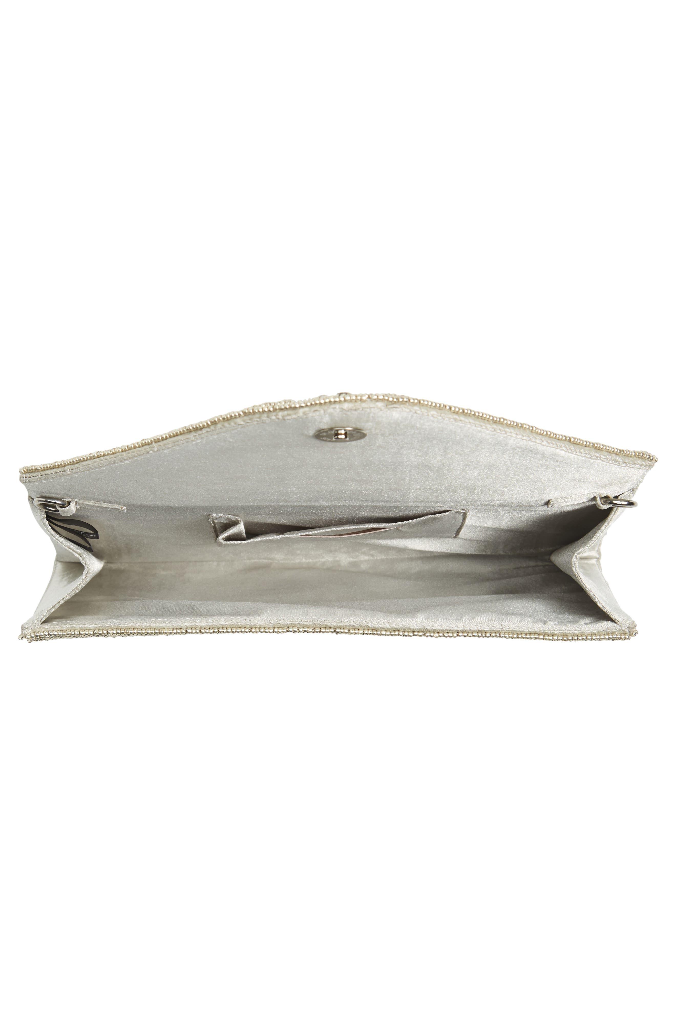 Alternate Image 3  - Glint 'Alhambra' Embellished Envelope Clutch