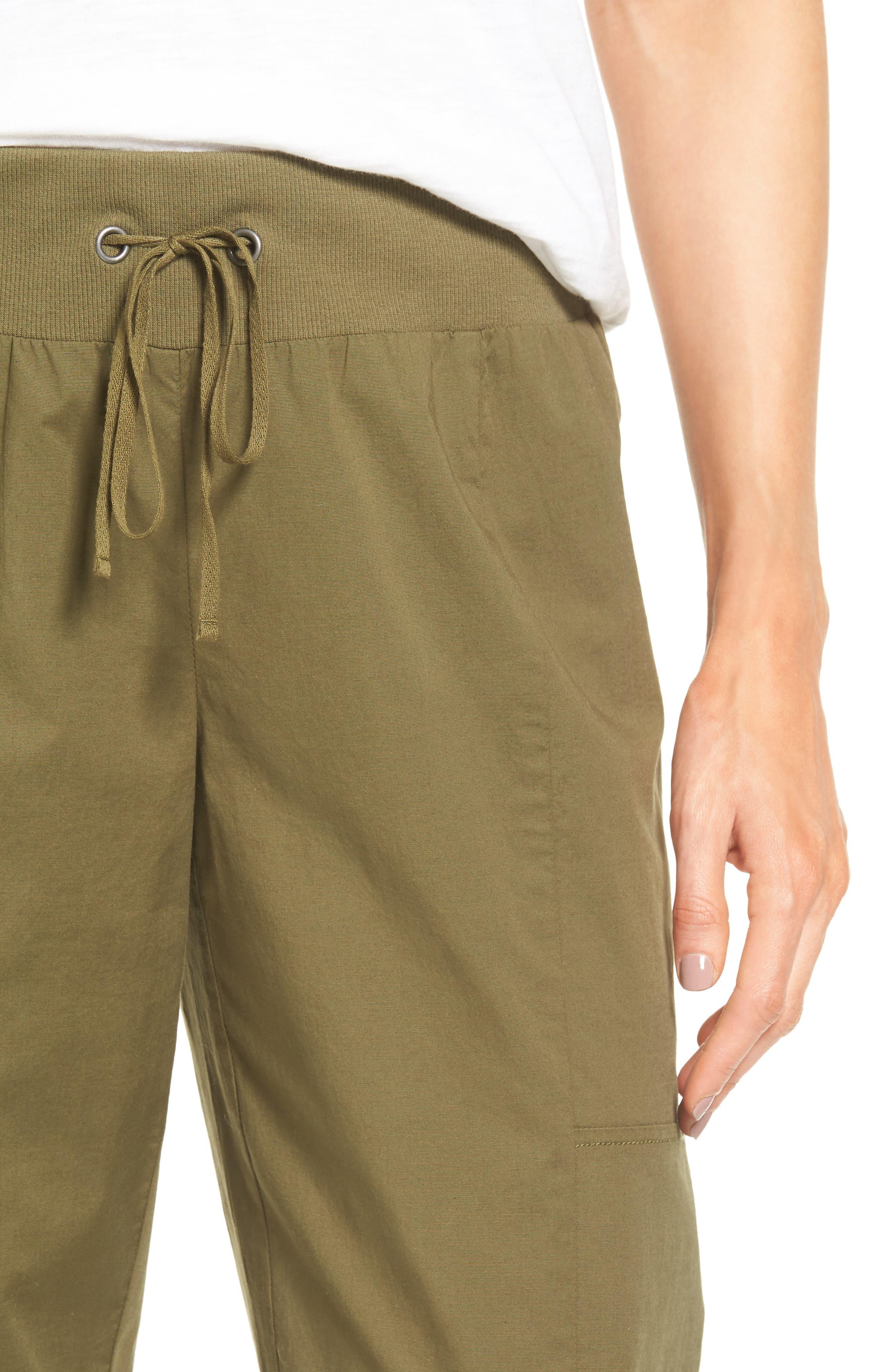Alternate Image 5  - Eileen Fisher Drawstring Ankle Pants (Regular & Petite)
