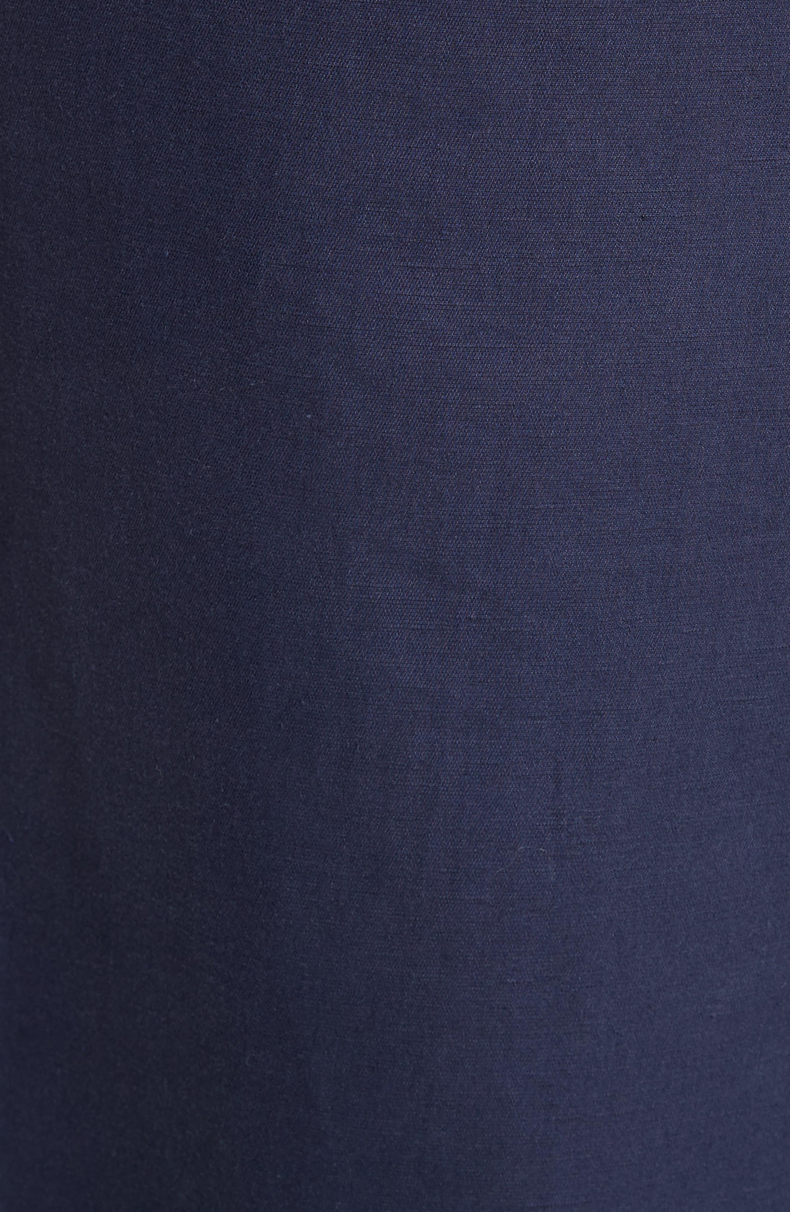 Chassis Plain Weave Crop Pants,                             Alternate thumbnail 6, color,                             Navy