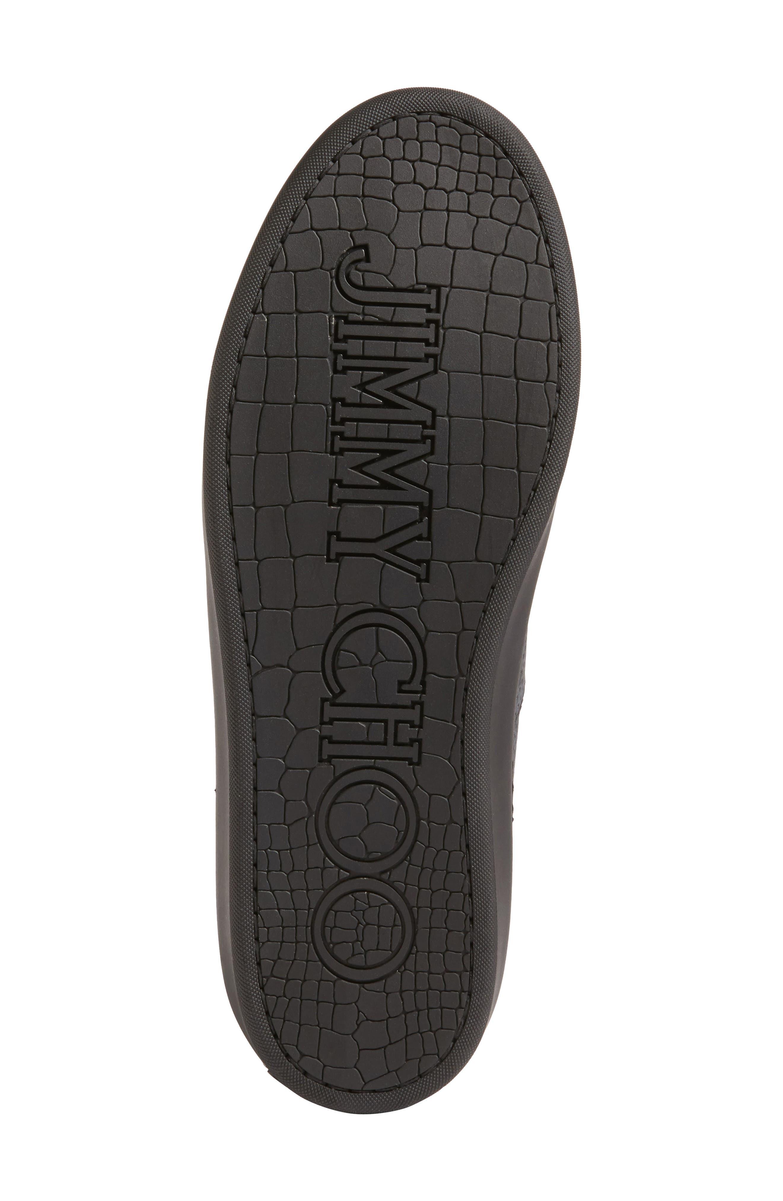 Belgravi Sneaker,                             Alternate thumbnail 6, color,                             Black/ Steel