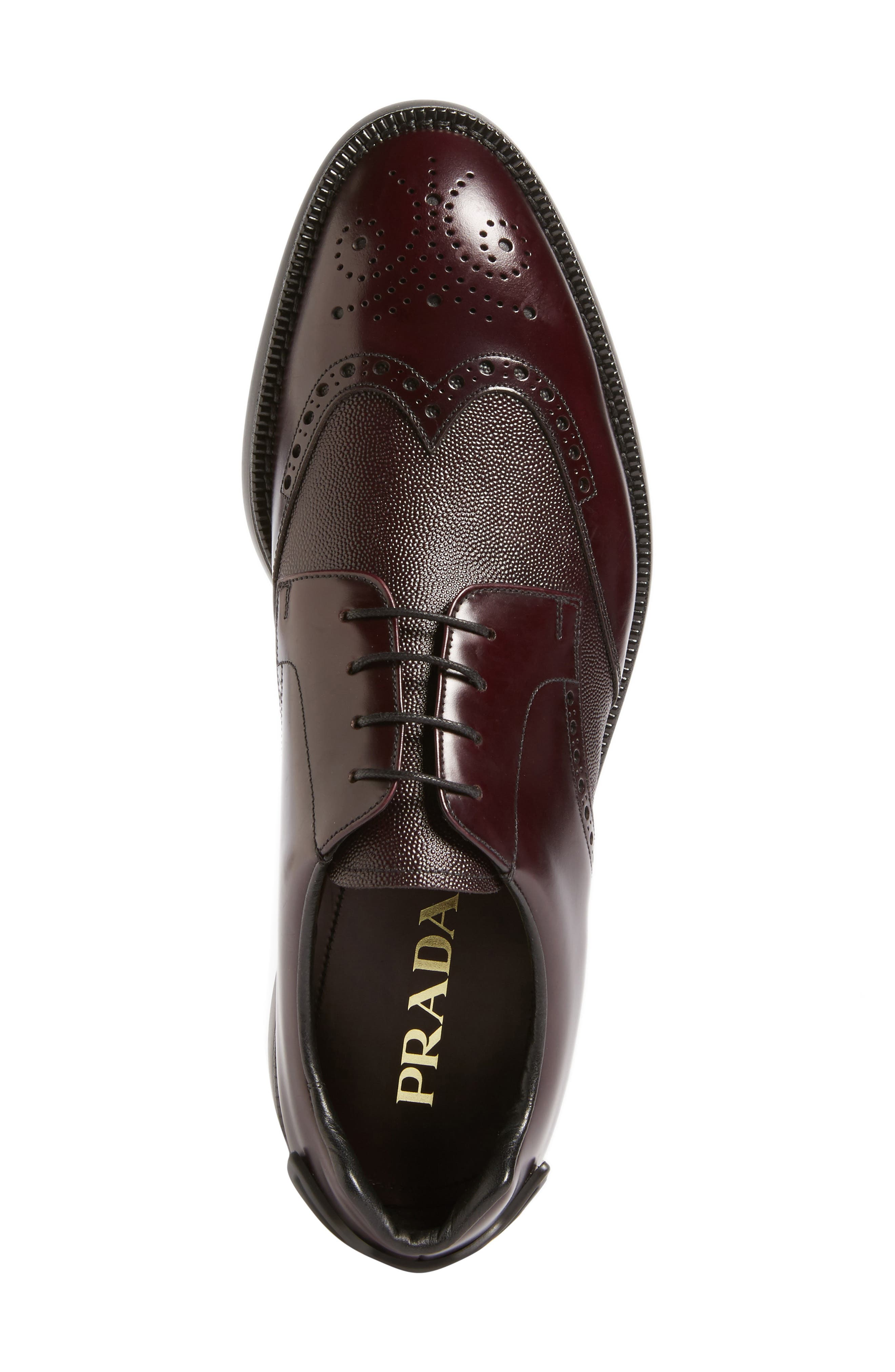Alternate Image 5  - Prada Wingtip (Men)