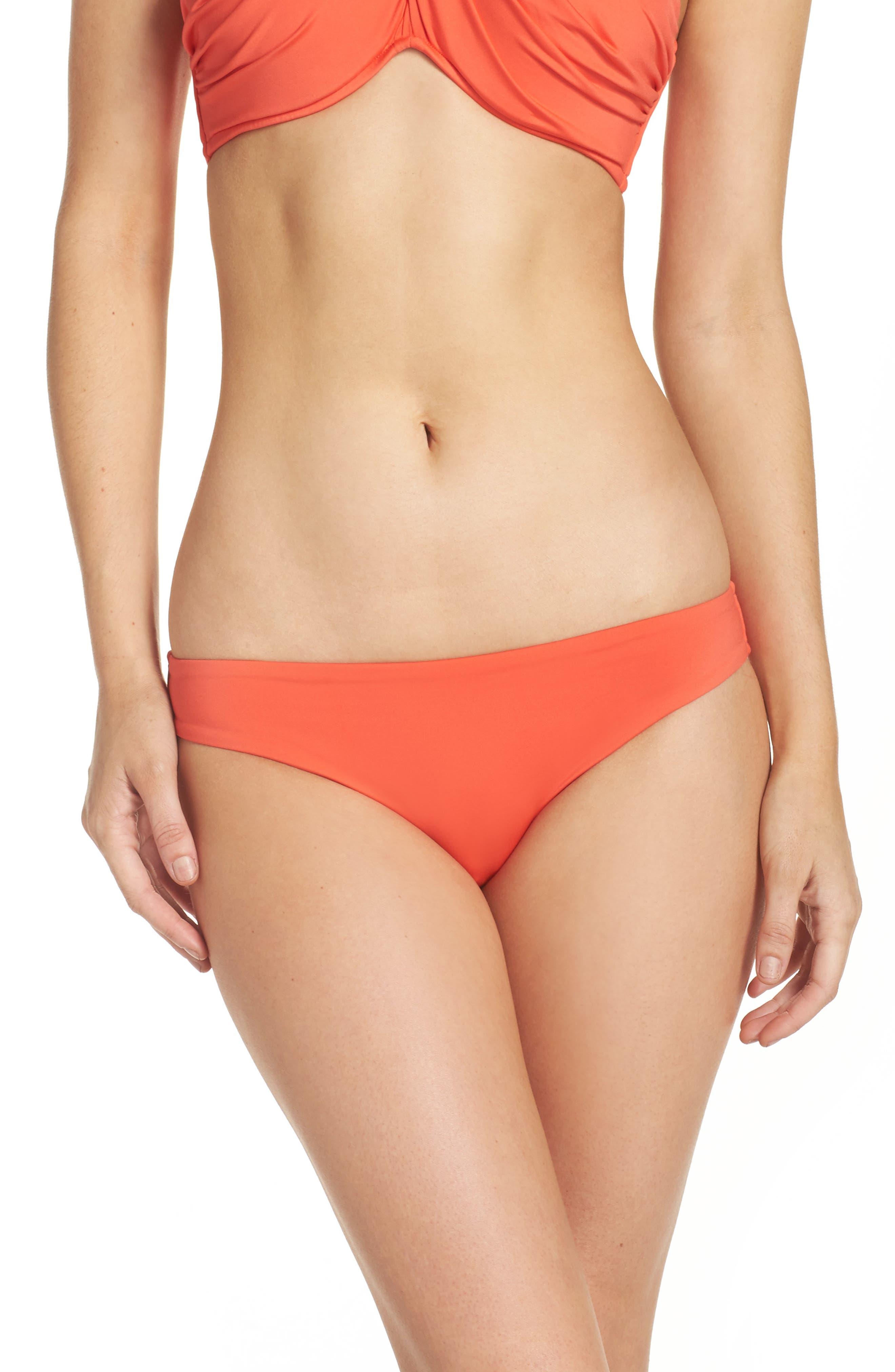 Main Image - Seafolly Mini Hipster Bikini Bottoms