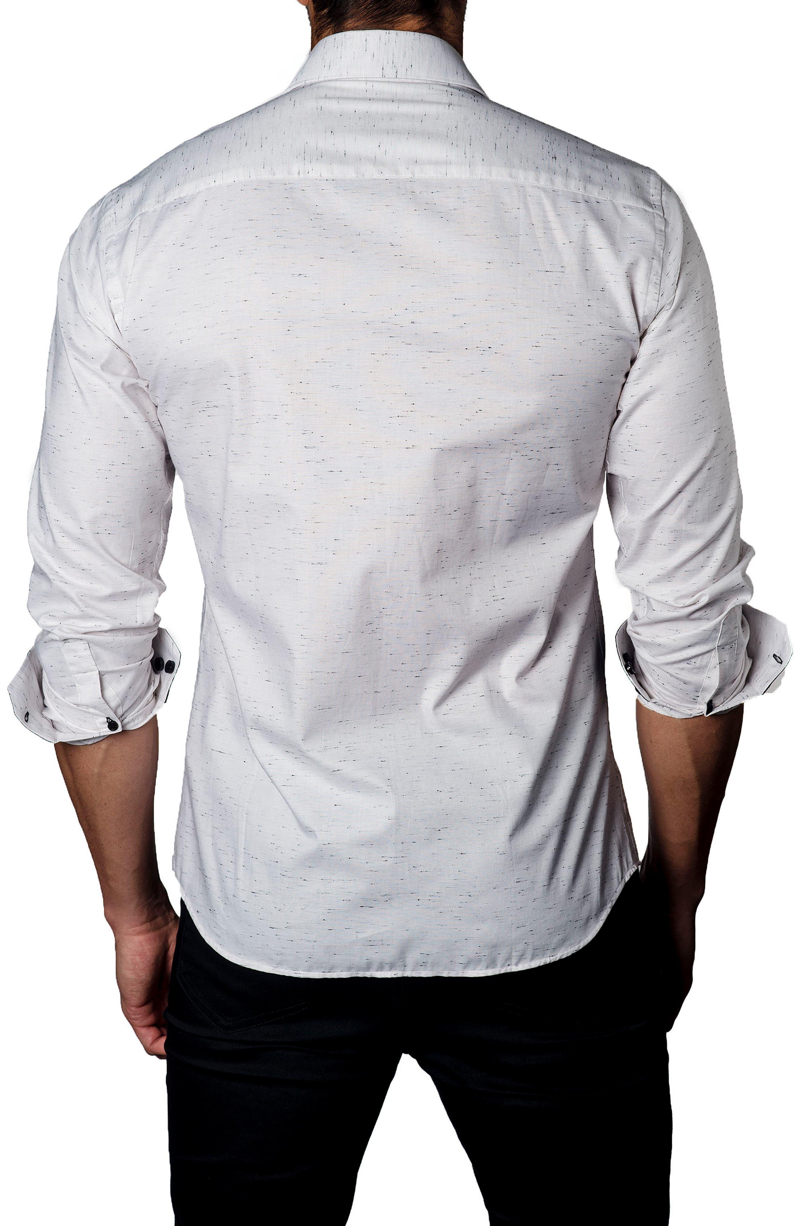 Sport Shirt,                             Alternate thumbnail 2, color,                             Cream