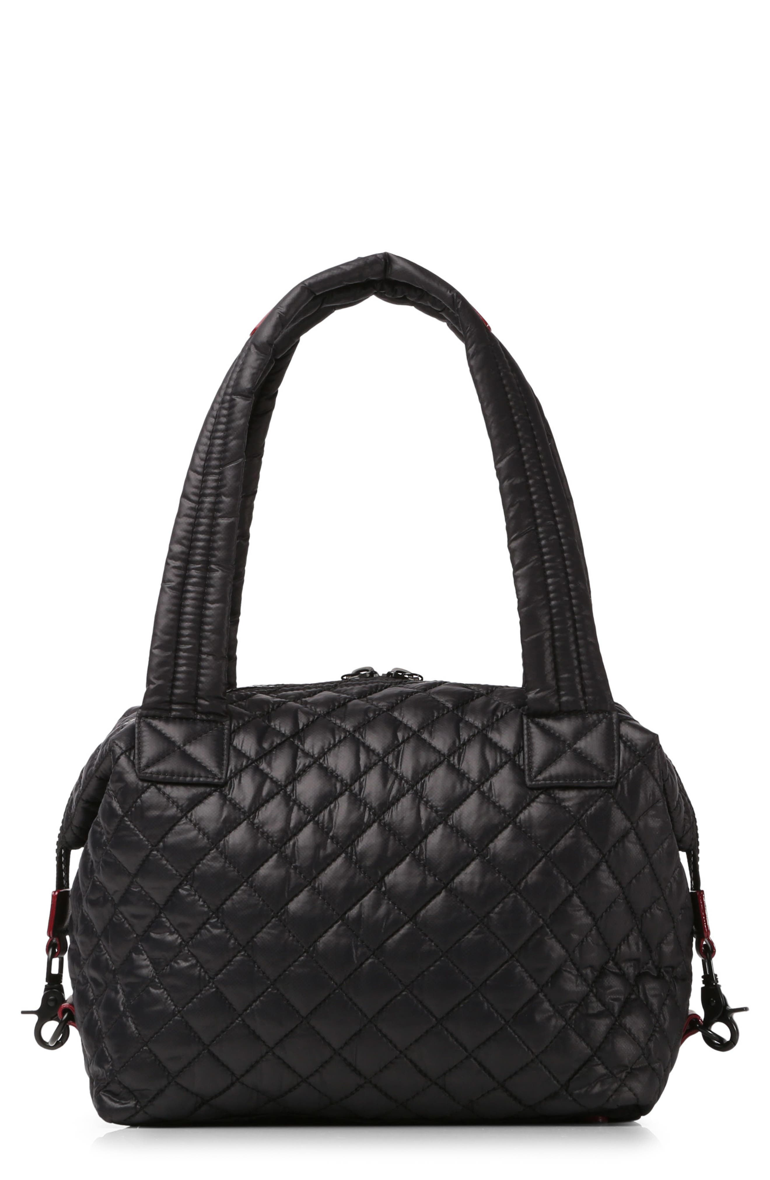 MZ WALLACE Medium Sutton Quilted Oxford Nylon Shoulder Tote